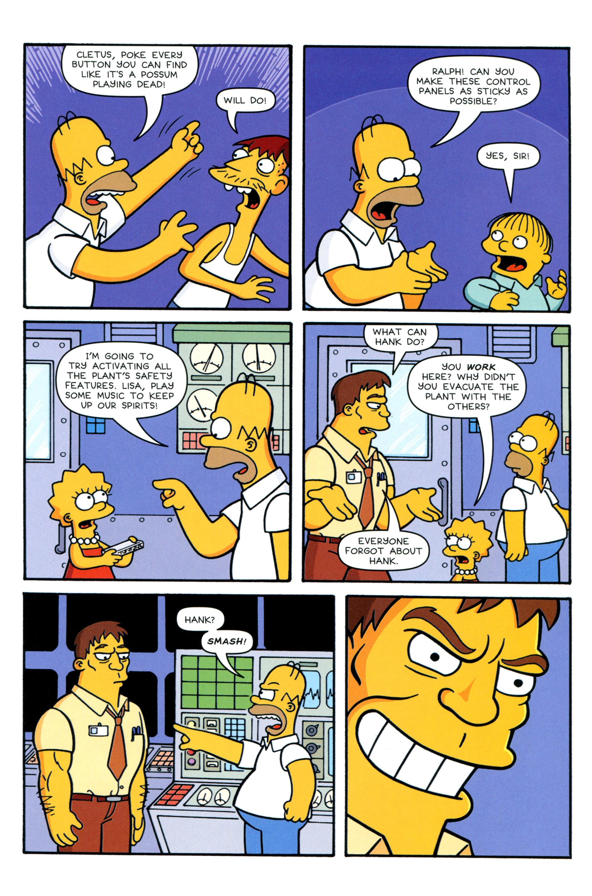 Read online Simpsons Comics comic -  Issue #206 - 21