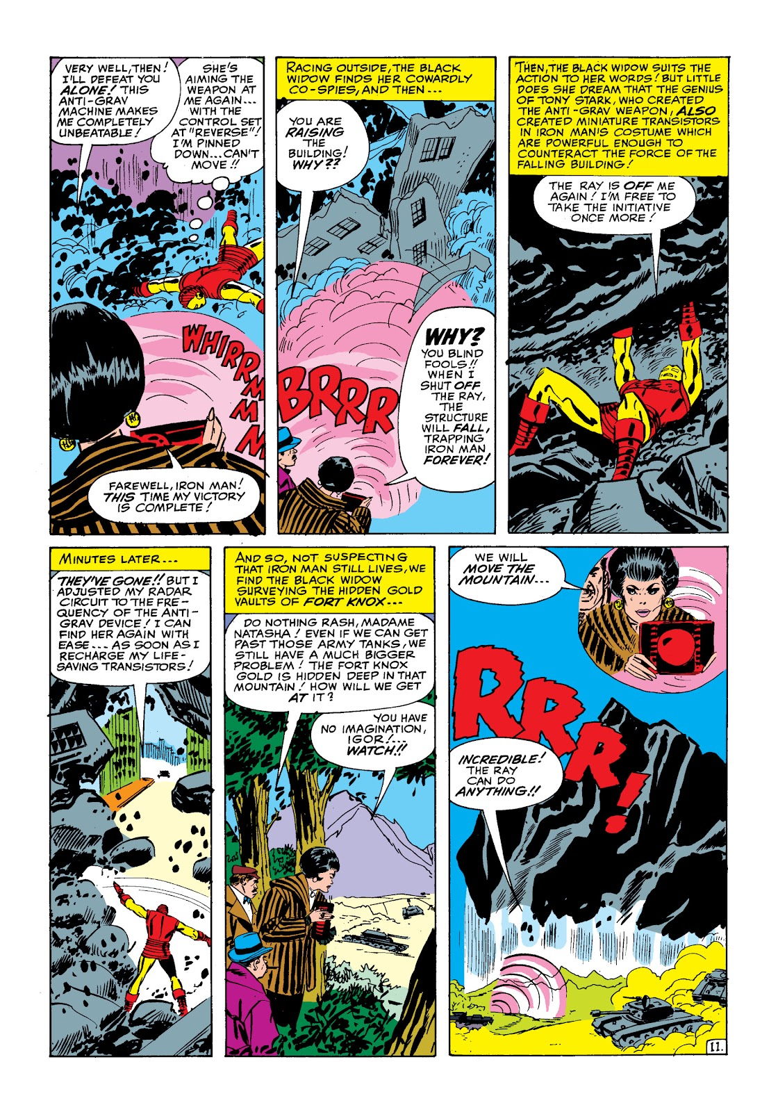 Read online Marvel Masterworks: The Invincible Iron Man comic -  Issue # TPB 2 (Part 1) - 42