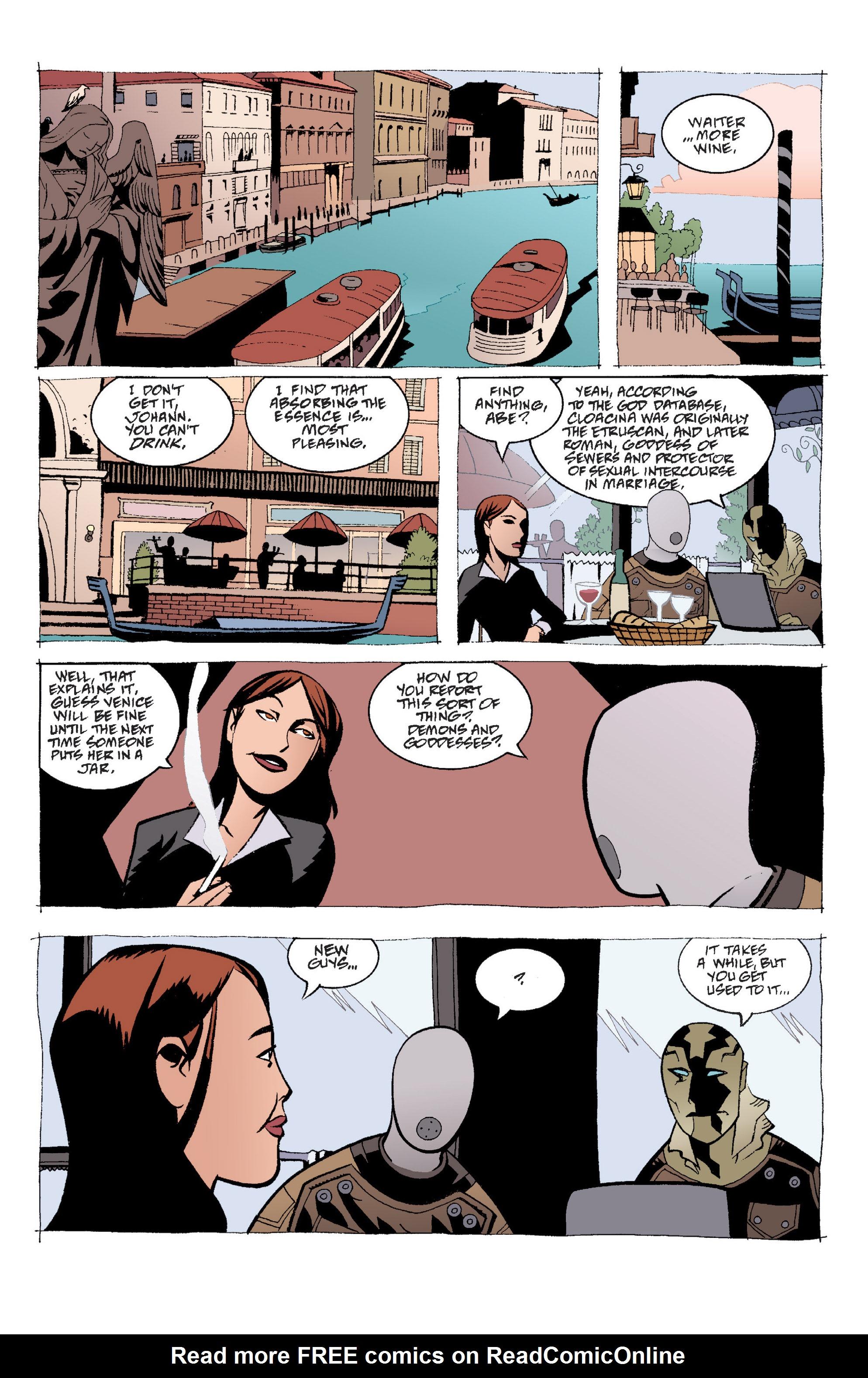 Read online B.P.R.D. (2003) comic -  Issue # TPB 2 - 31