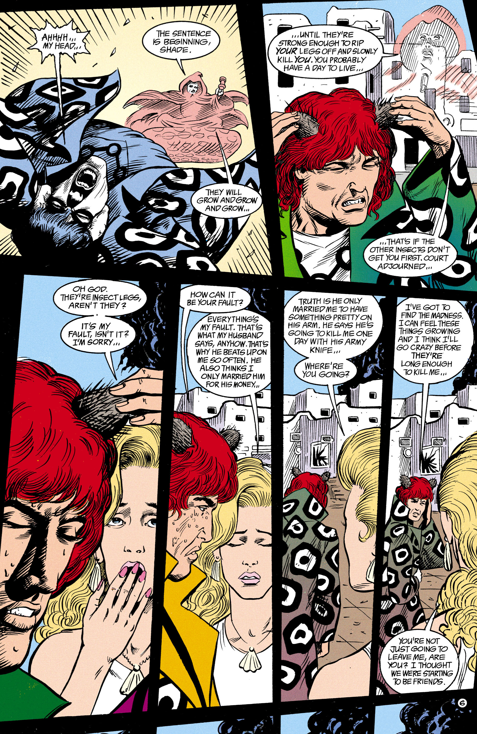 Read online Shade, the Changing Man comic -  Issue #14 - 7