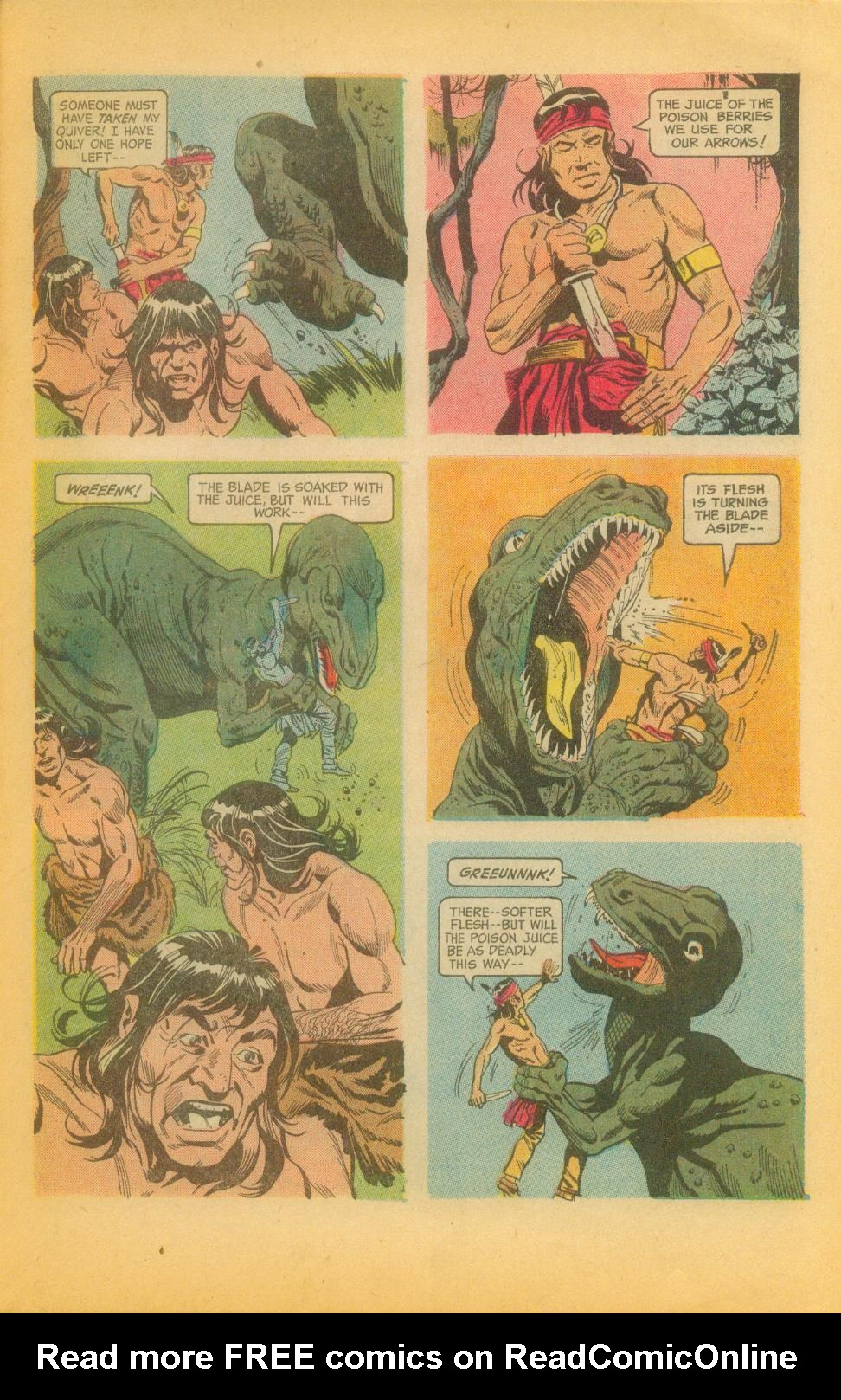 Read online Turok, Son of Stone comic -  Issue #82 - 27