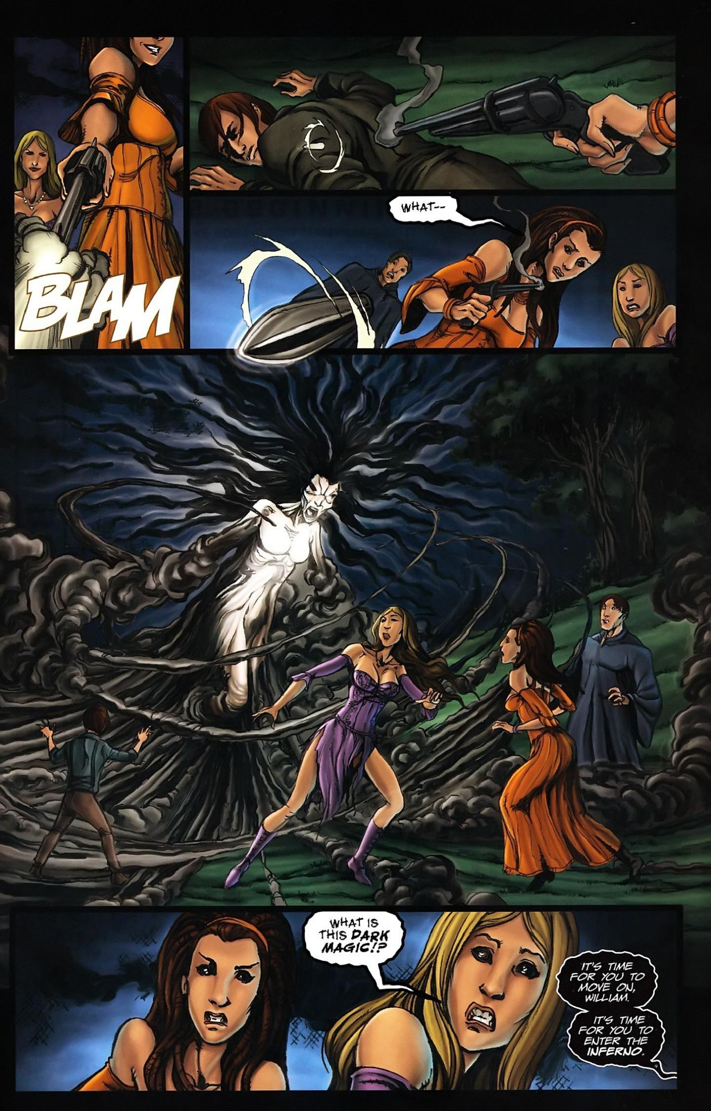 Read online Salem's Daughter: The Haunting comic -  Issue #5 - 23