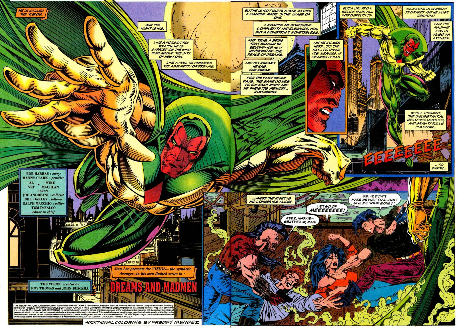 Read online The Vision comic -  Issue #1 - 3