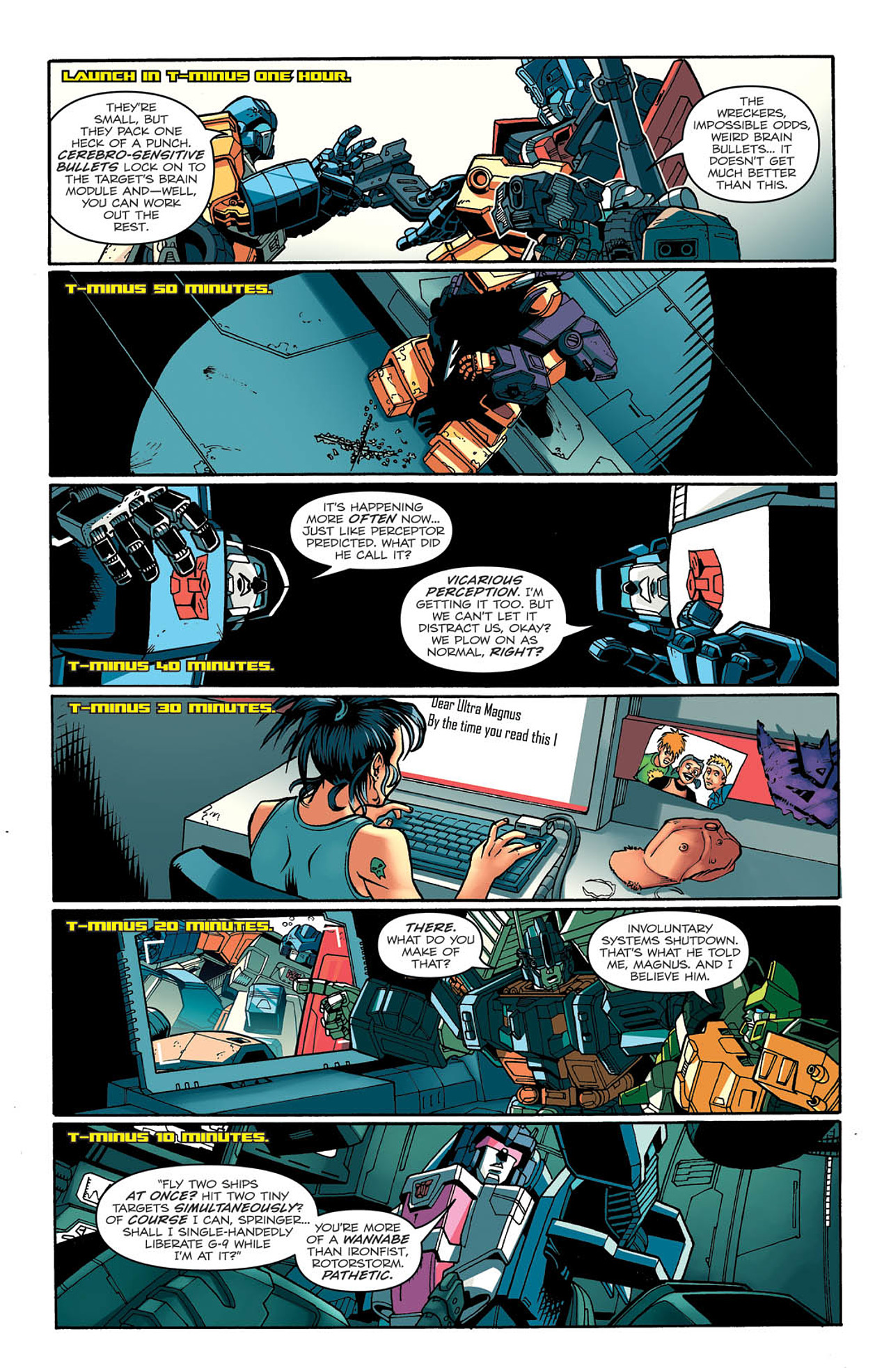 Read online Transformers: Last Stand of The Wreckers comic -  Issue #2 - 19