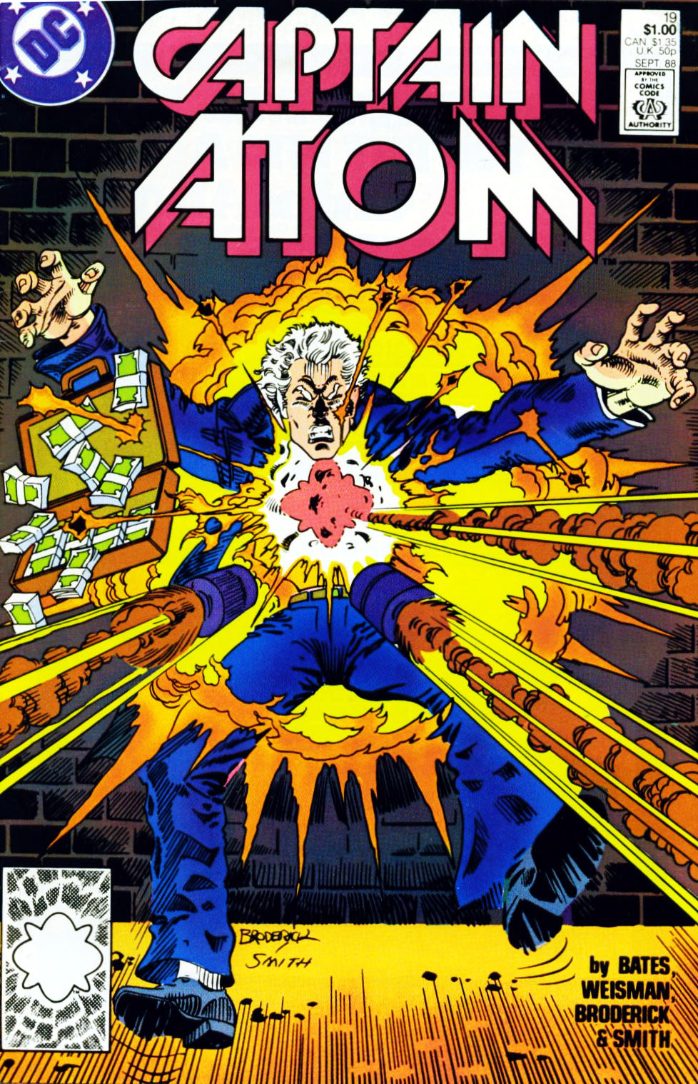 Captain Atom (1987) 19 Page 1