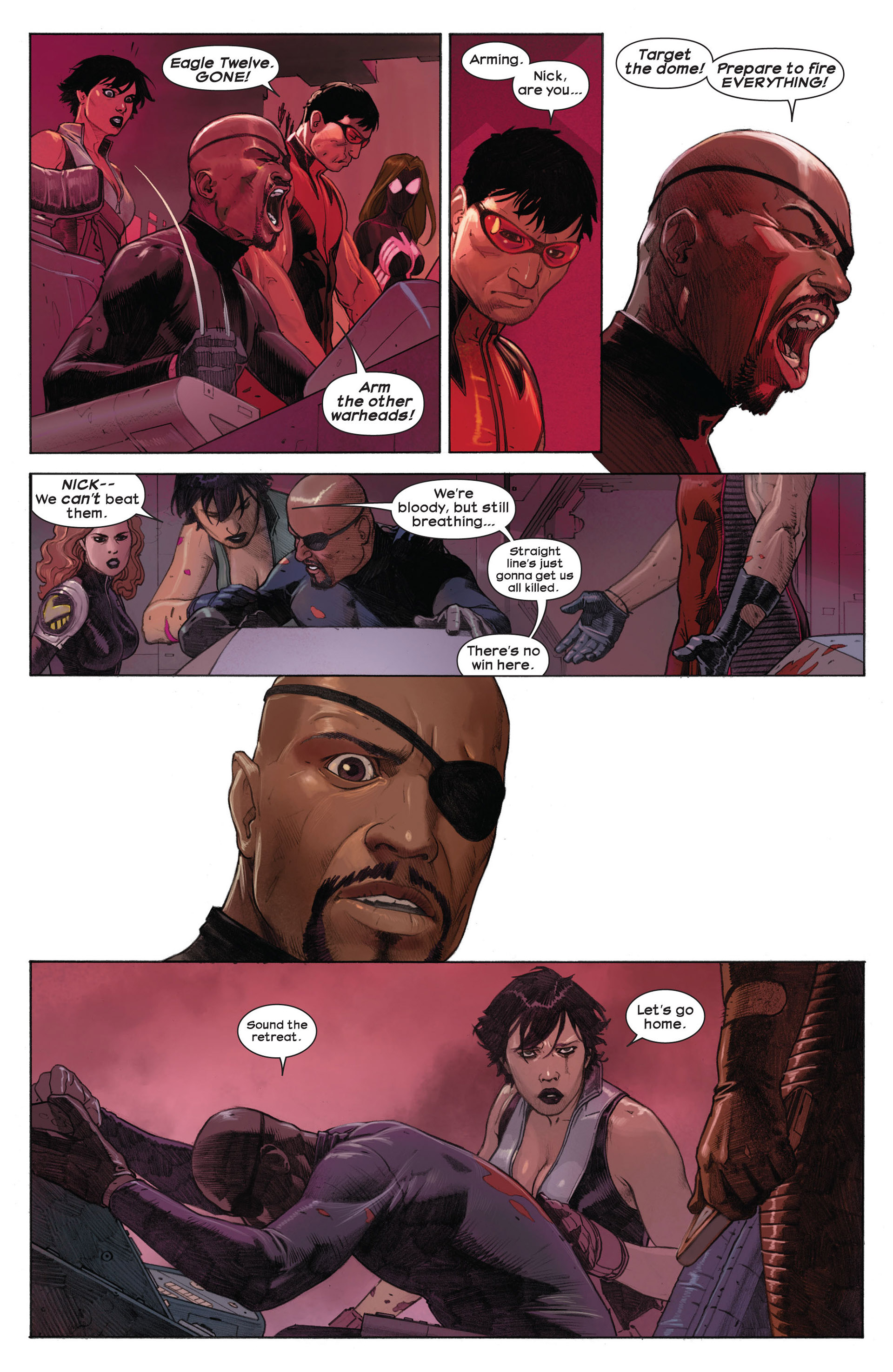 Read online Ultimate Comics Ultimates comic -  Issue #3 - 16