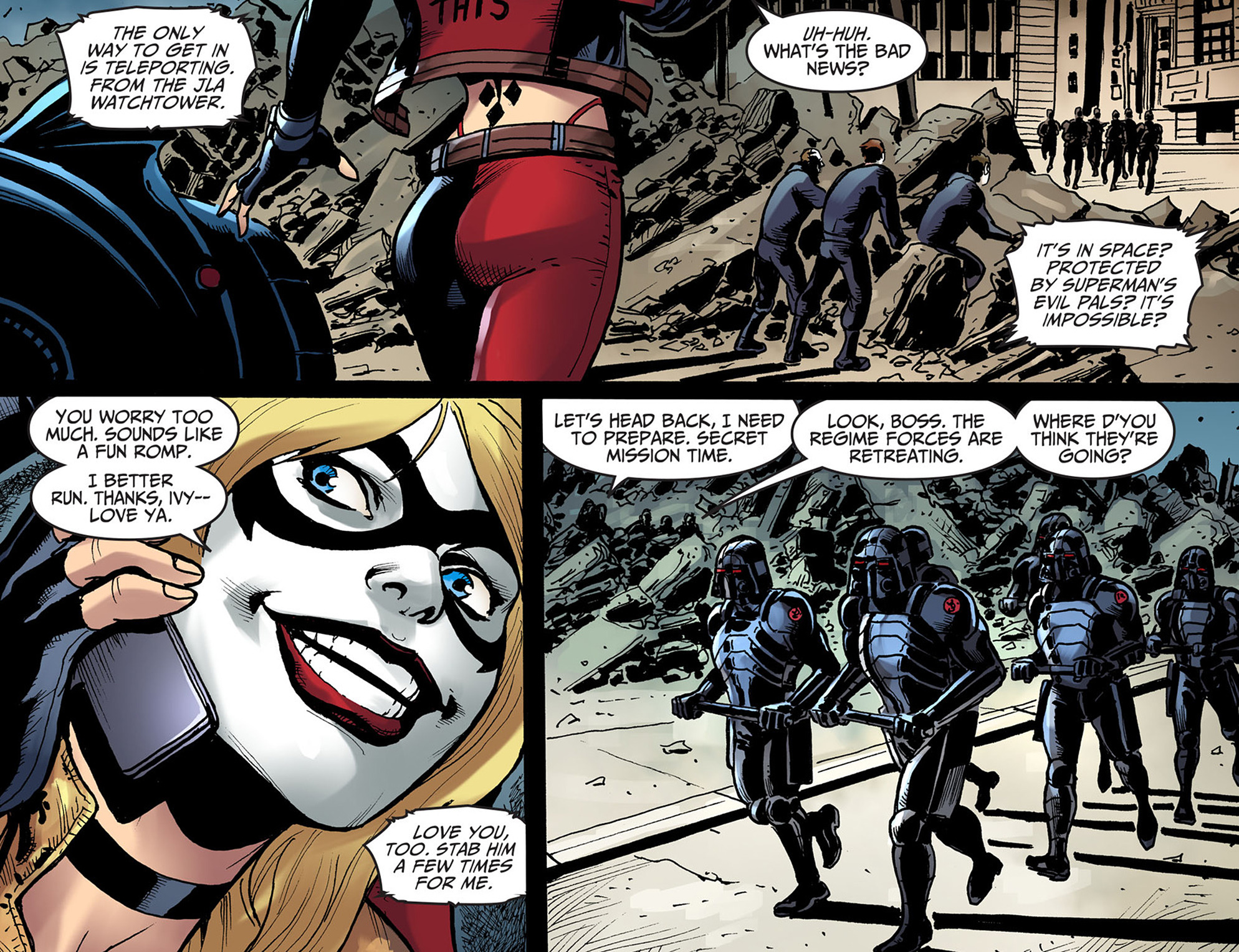 Read online Injustice: Ground Zero comic -  Issue #13 - 21