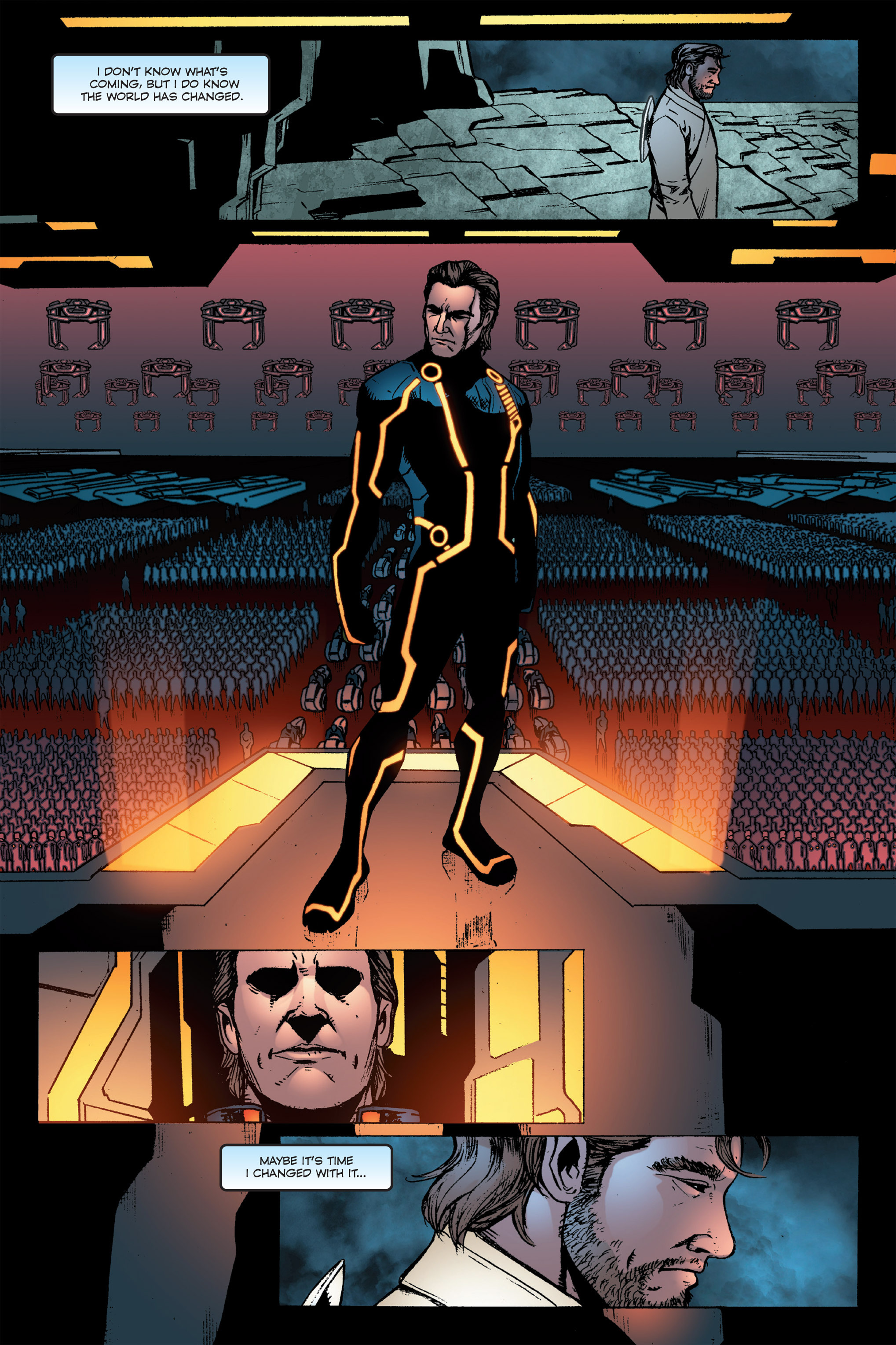 Read online TRON: Betrayal comic -  Issue # TPB - 112