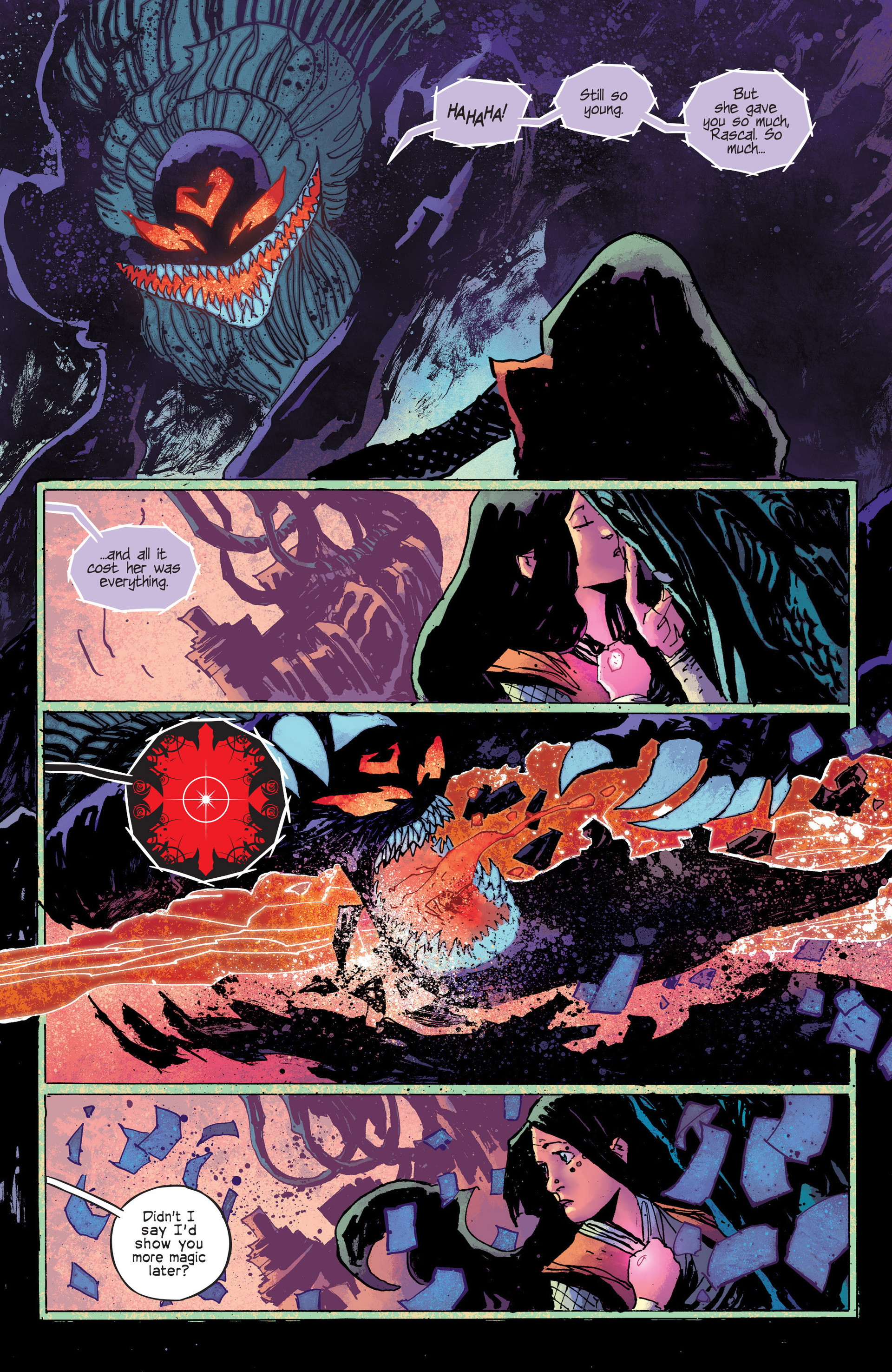 Read online Umbral comic -  Issue #6 - 21