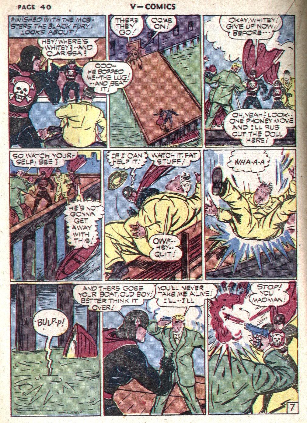 Read online V...- Comics comic -  Issue #1 - 41