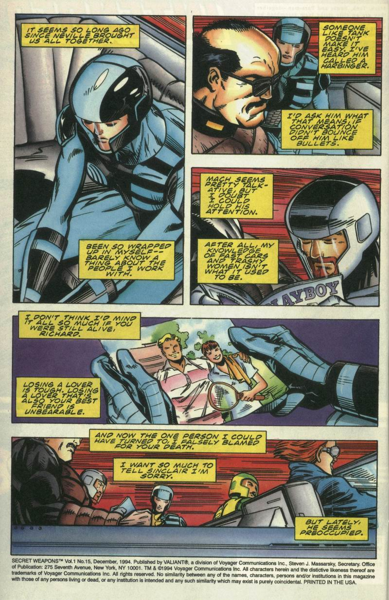 Read online Secret Weapons comic -  Issue #15 - 3