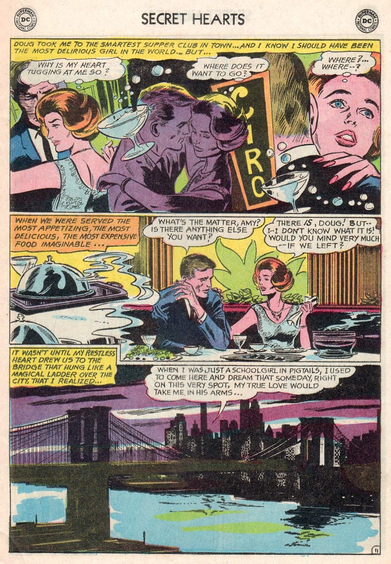 Read online Secret Hearts comic -  Issue #107 - 13
