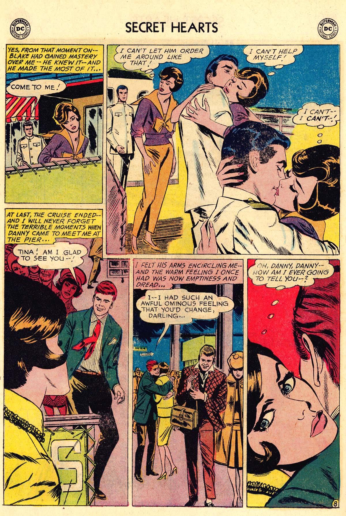 Read online Secret Hearts comic -  Issue #106 - 26