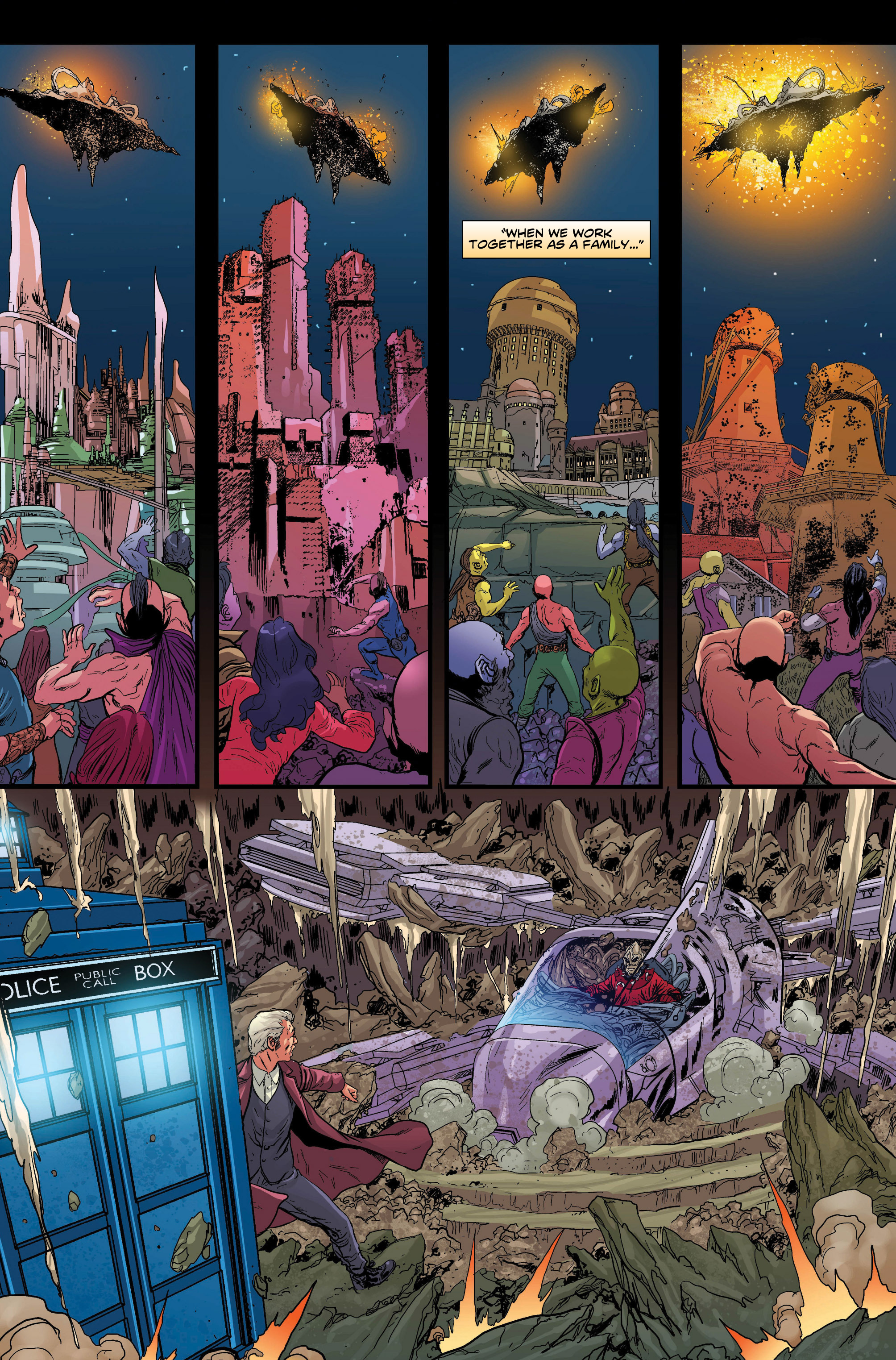 Read online Doctor Who: Ghost Stories comic -  Issue #7 - 10