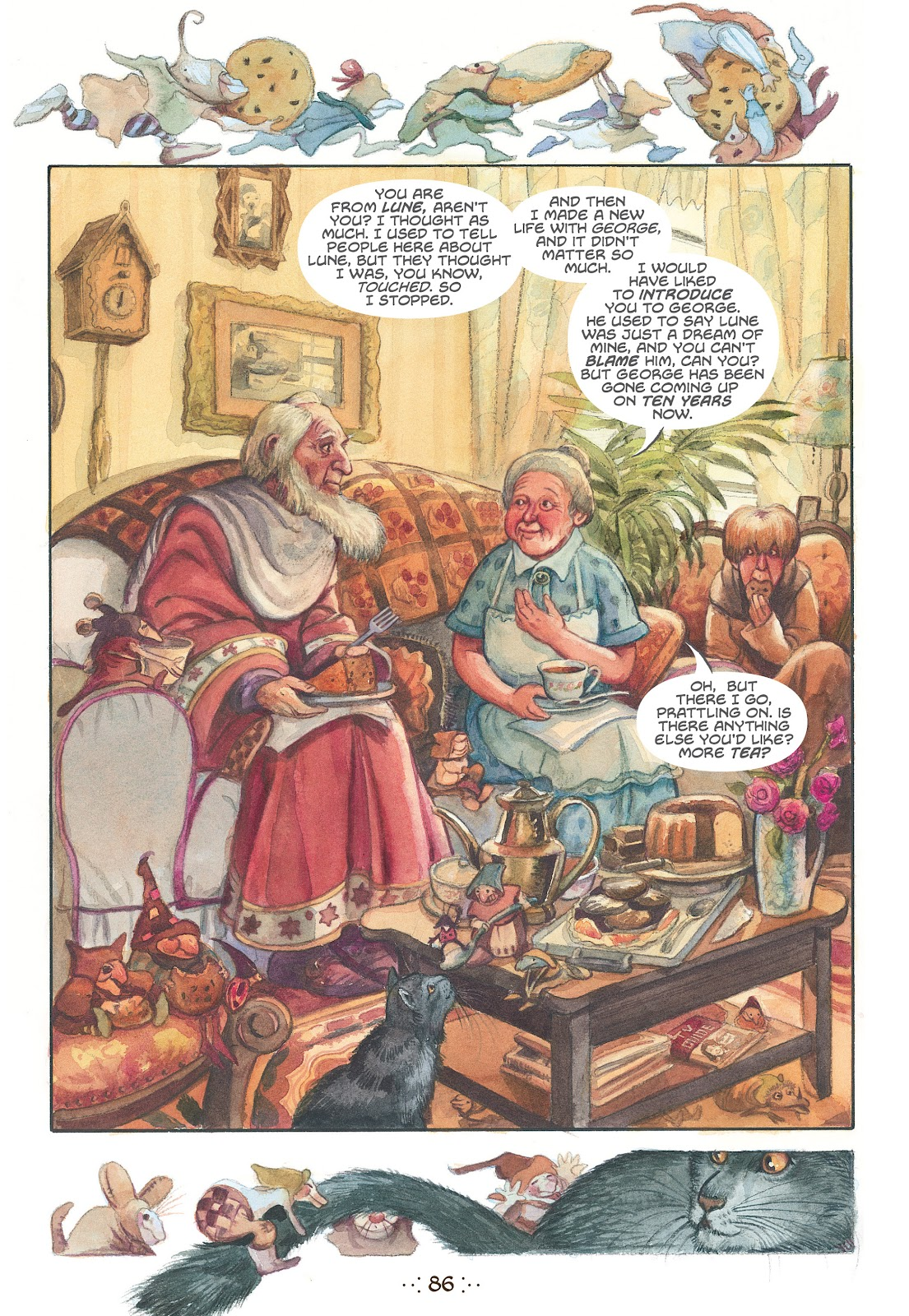 Read online The Wizard's Tale comic -  Issue # TPB - 82