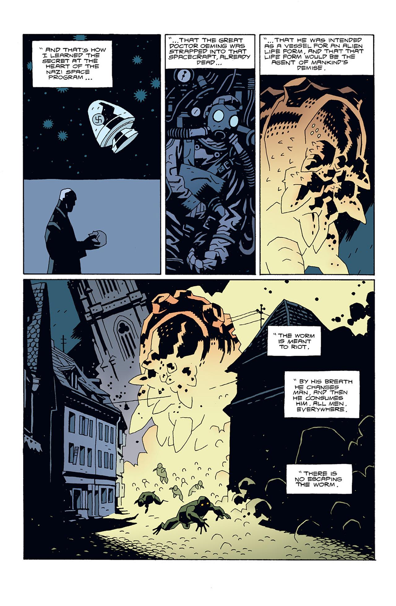 Read online Hellboy: Conqueror Worm comic -  Issue #3 - 27