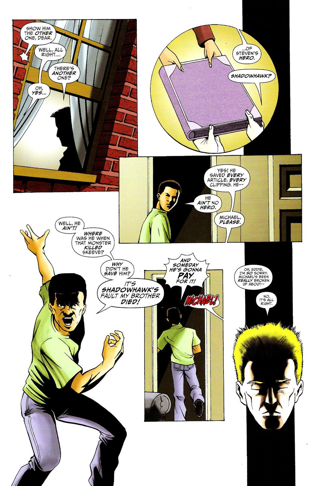 Read online ShadowHawk (2005) comic -  Issue #11 - 14