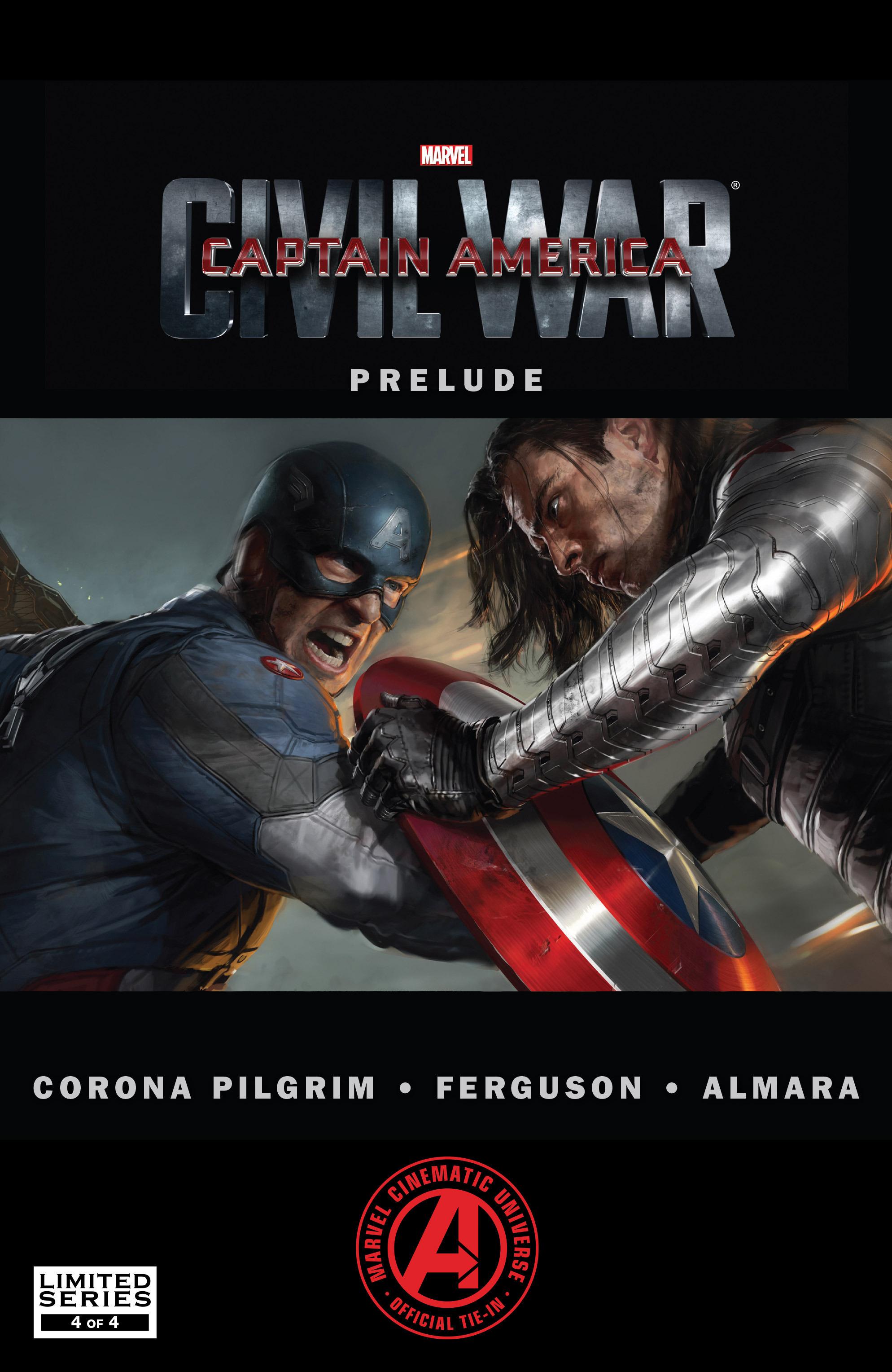 Captain America: Civil War Prelude 4 Page 1