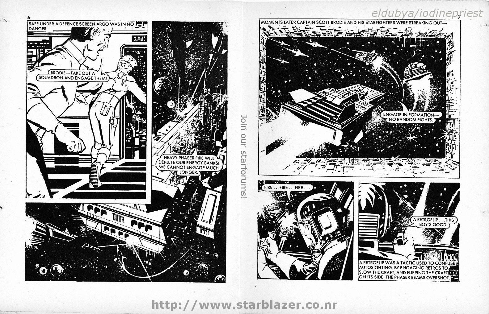 Starblazer issue 135 - Page 5