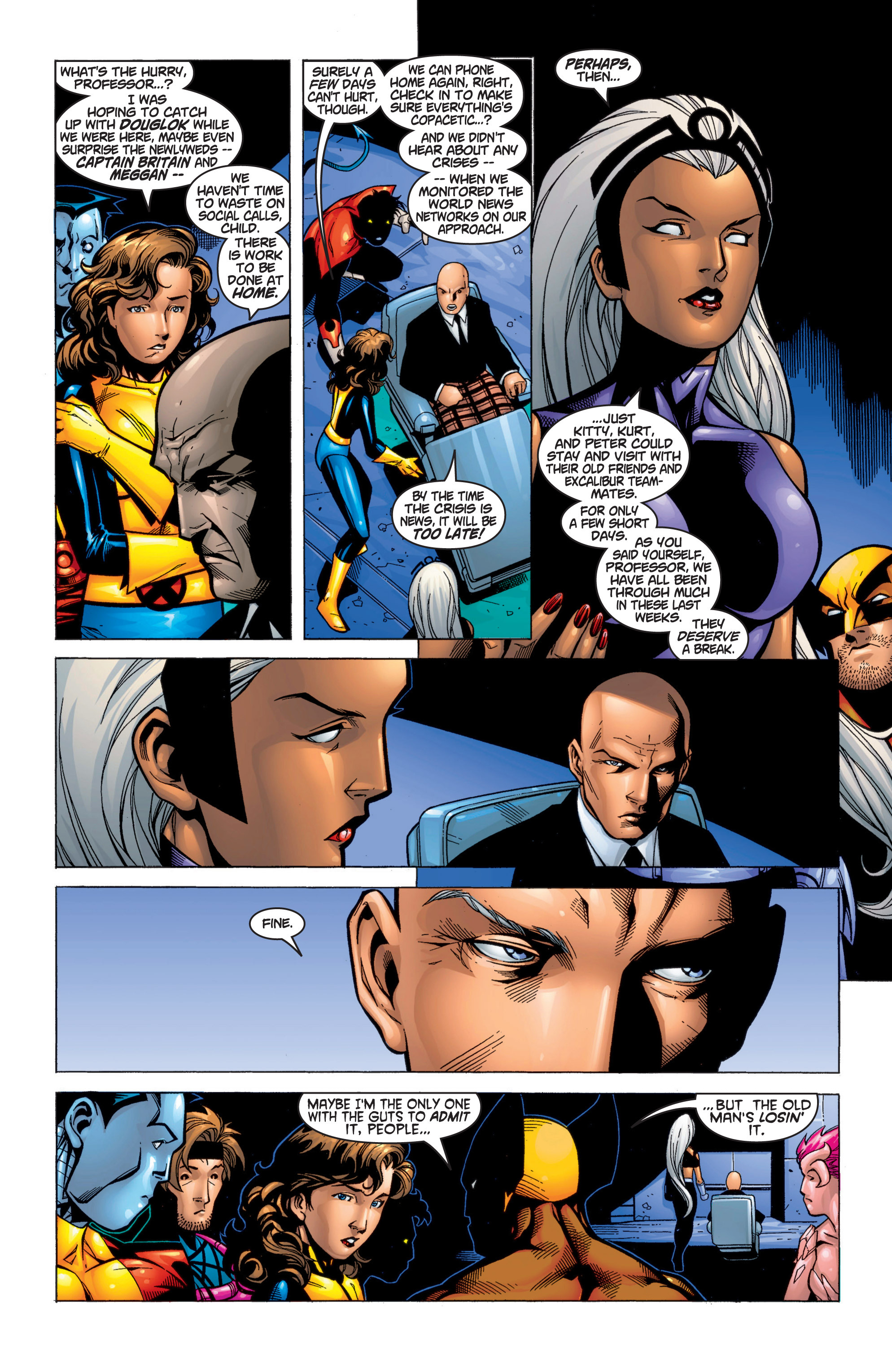 Read online Uncanny X-Men (1963) comic -  Issue #371 - 15
