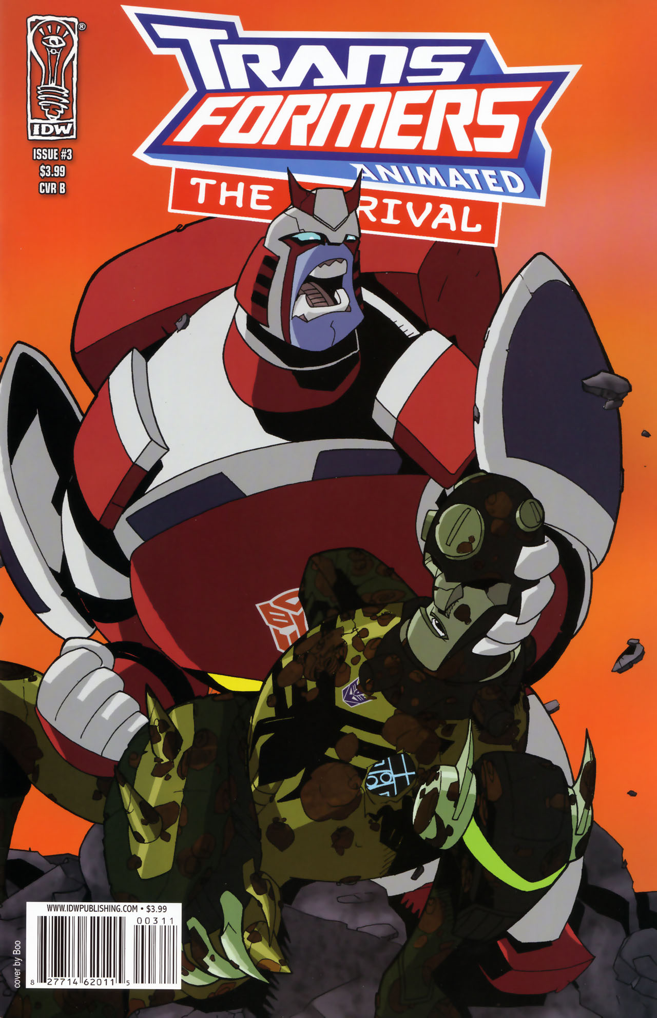 Read online Transformers Animated: The Arrival comic -  Issue #3 - 1