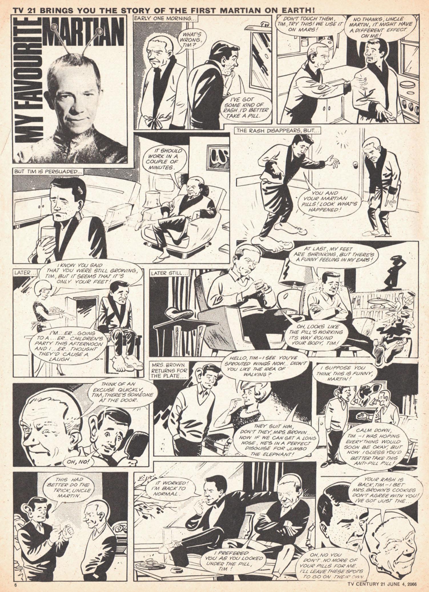 Read online TV Century 21 (TV 21) comic -  Issue #72 - 6