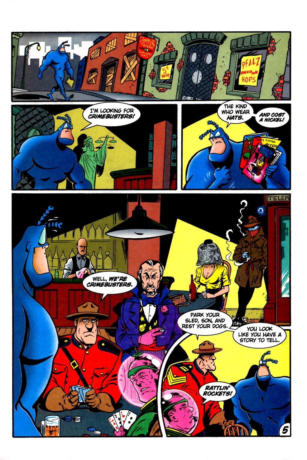 Read online The Tick: Days of Drama comic -  Issue #2 - 7