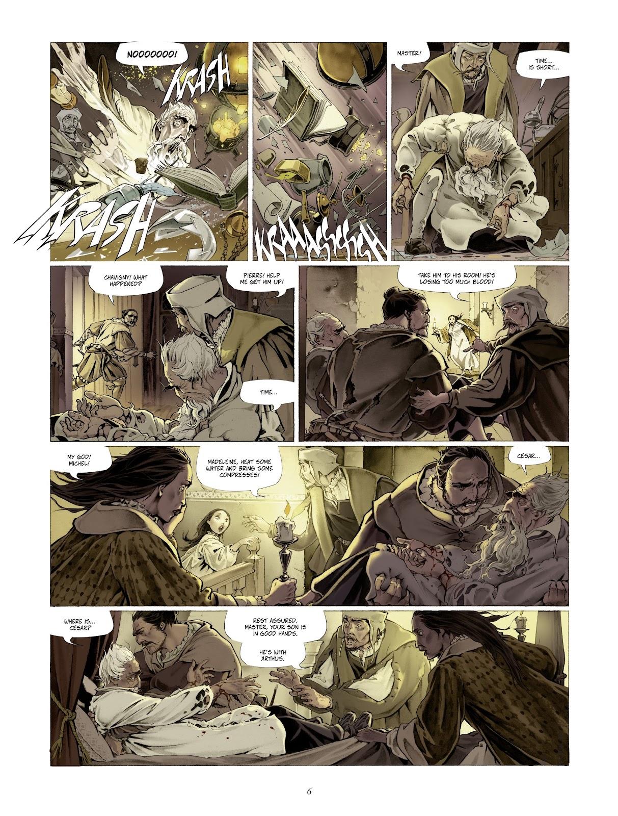 Read online Arthus Trivium comic -  Issue #4 - 8