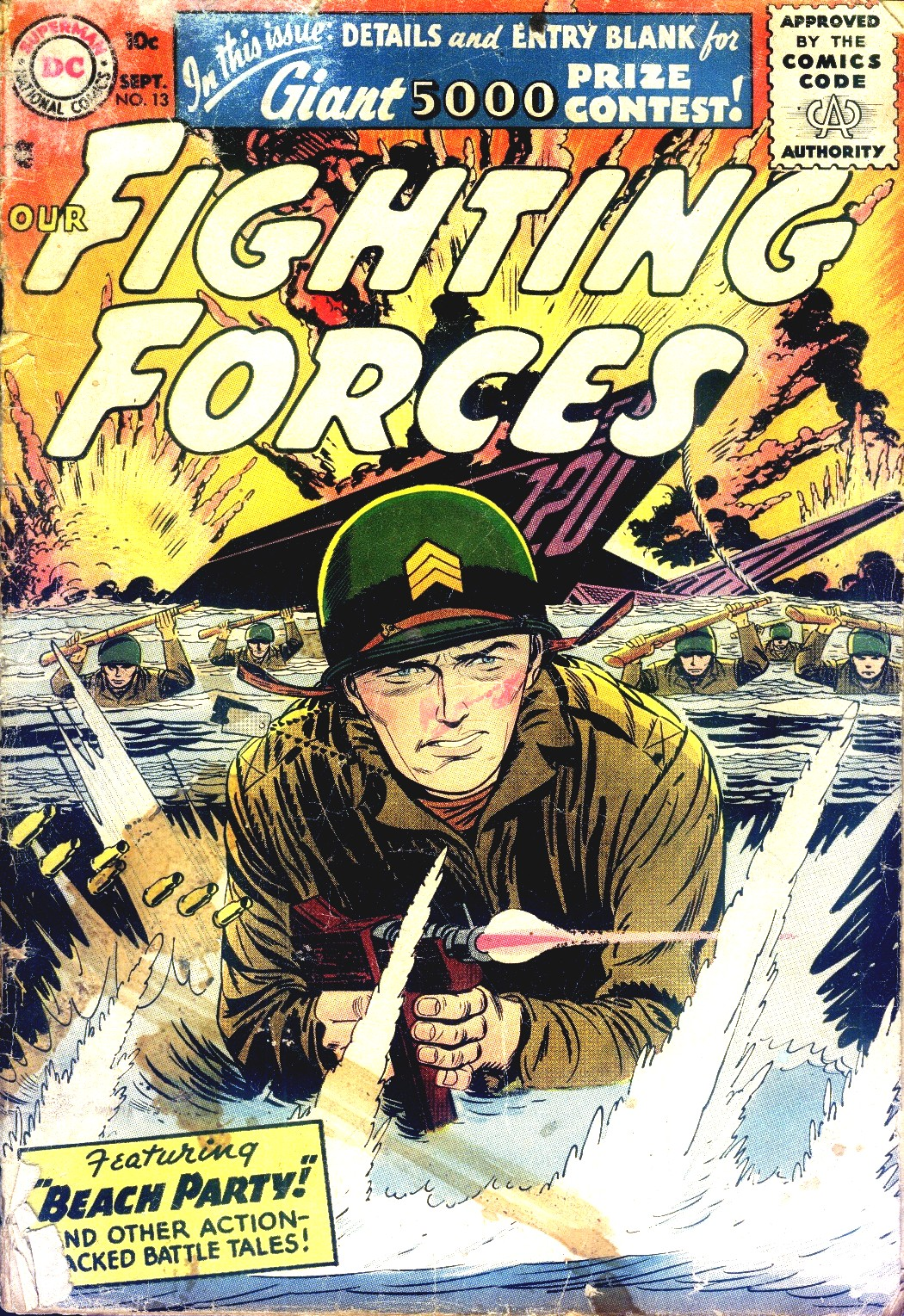 Our Fighting Forces (1954) issue 13 - Page 1