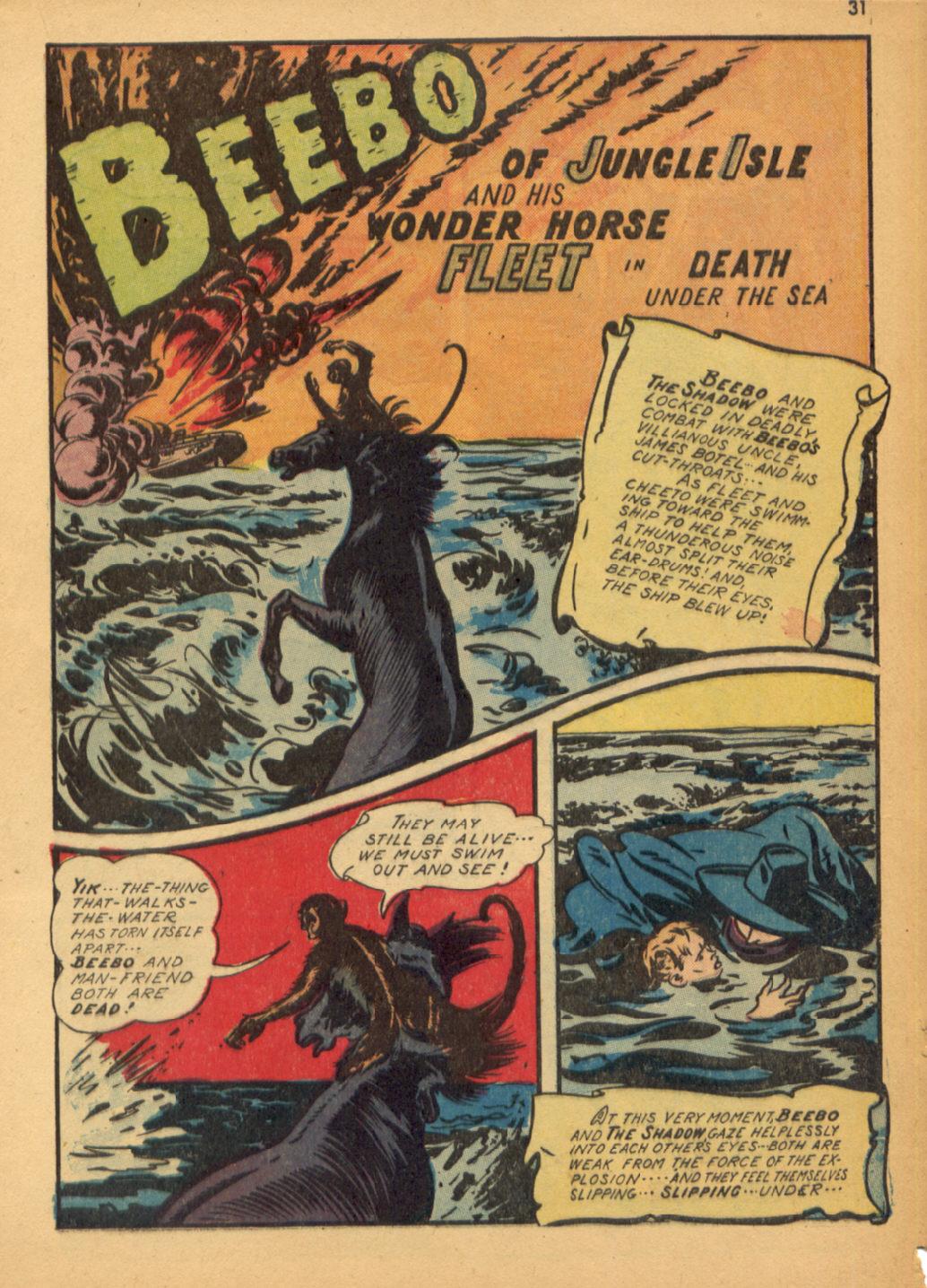 Read online Shadow Comics comic -  Issue #32 - 32