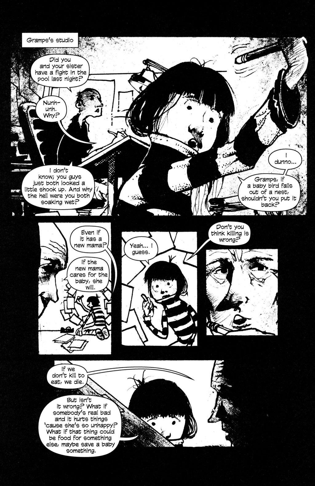 Read online Ojo comic -  Issue #4 - 16