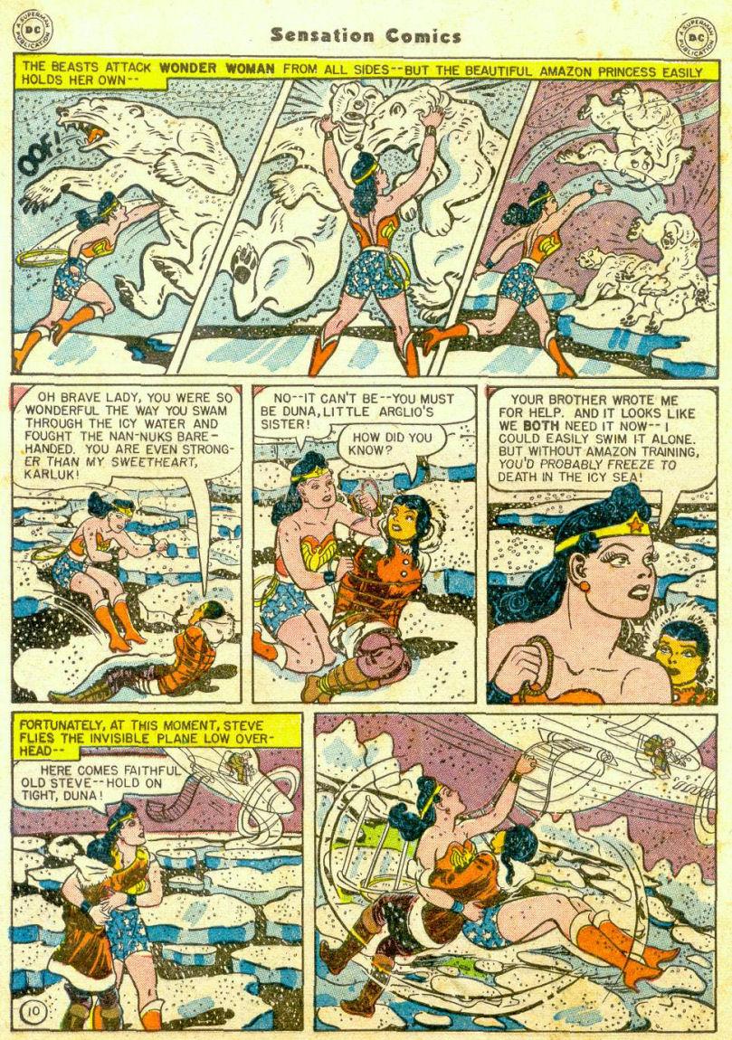 Read online Sensation (Mystery) Comics comic -  Issue #65 - 11