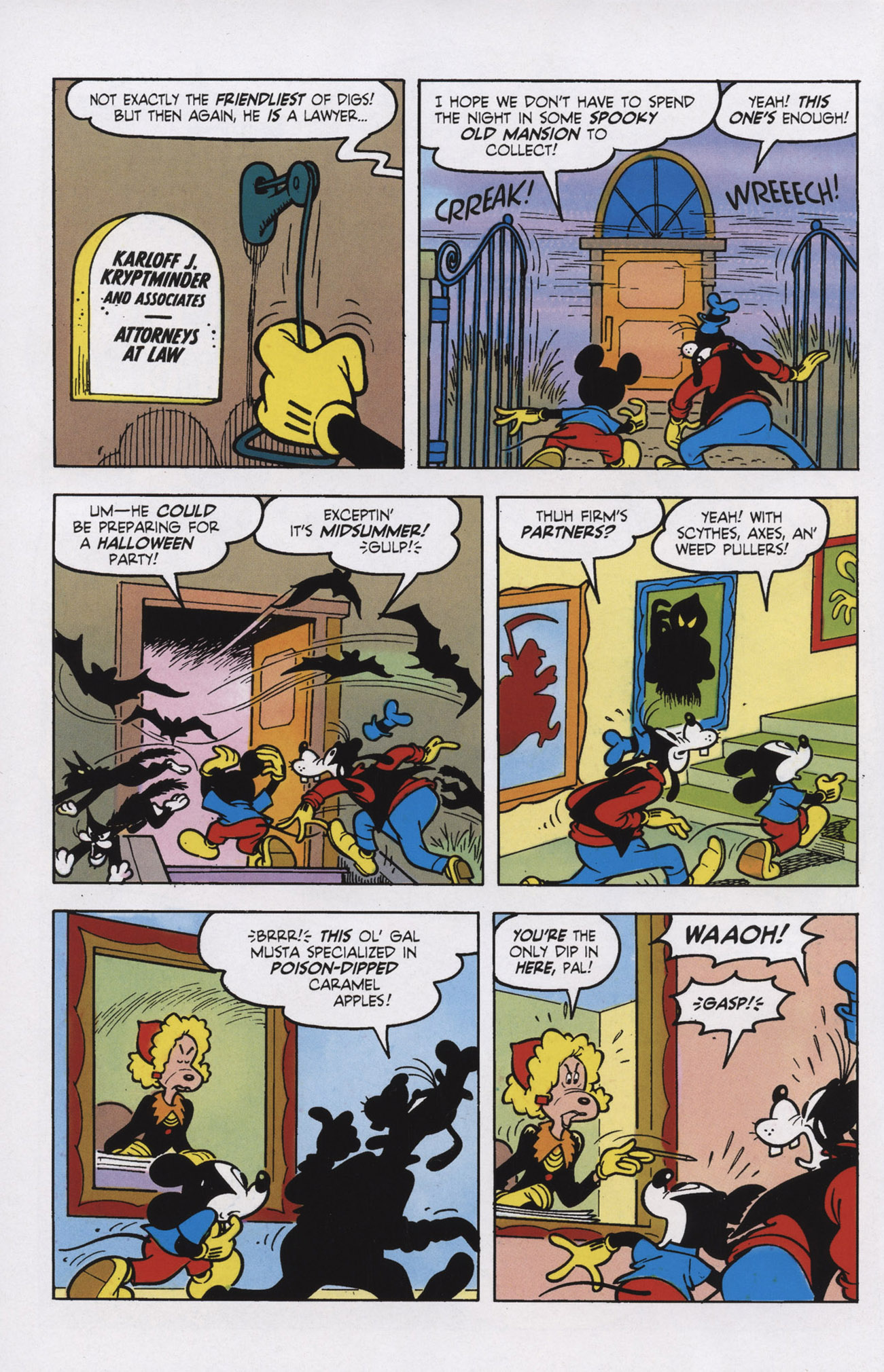 Read online Mickey Mouse (2011) comic -  Issue #309 - 4