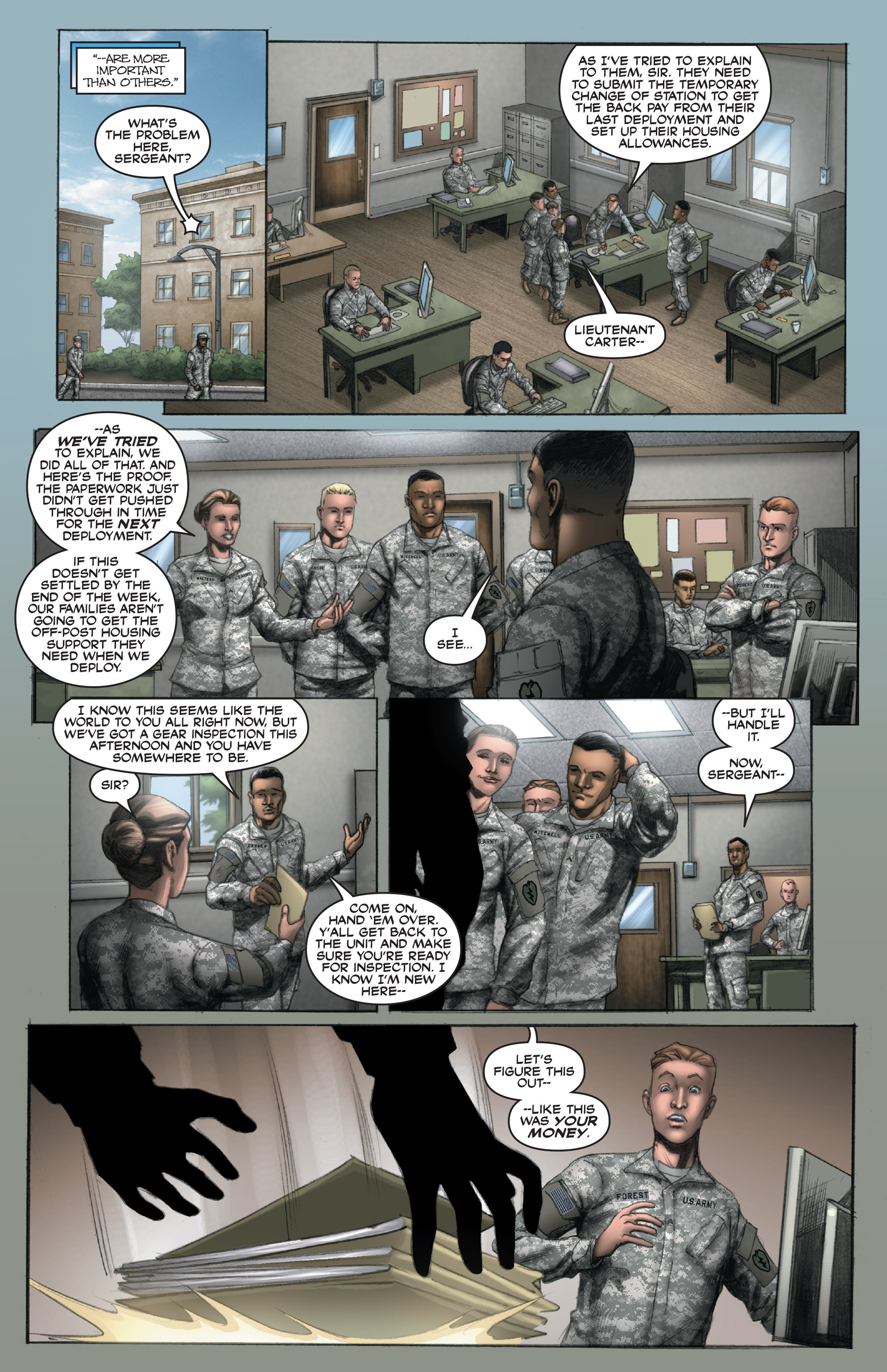 Read online America's Army comic -  Issue #14 - 4