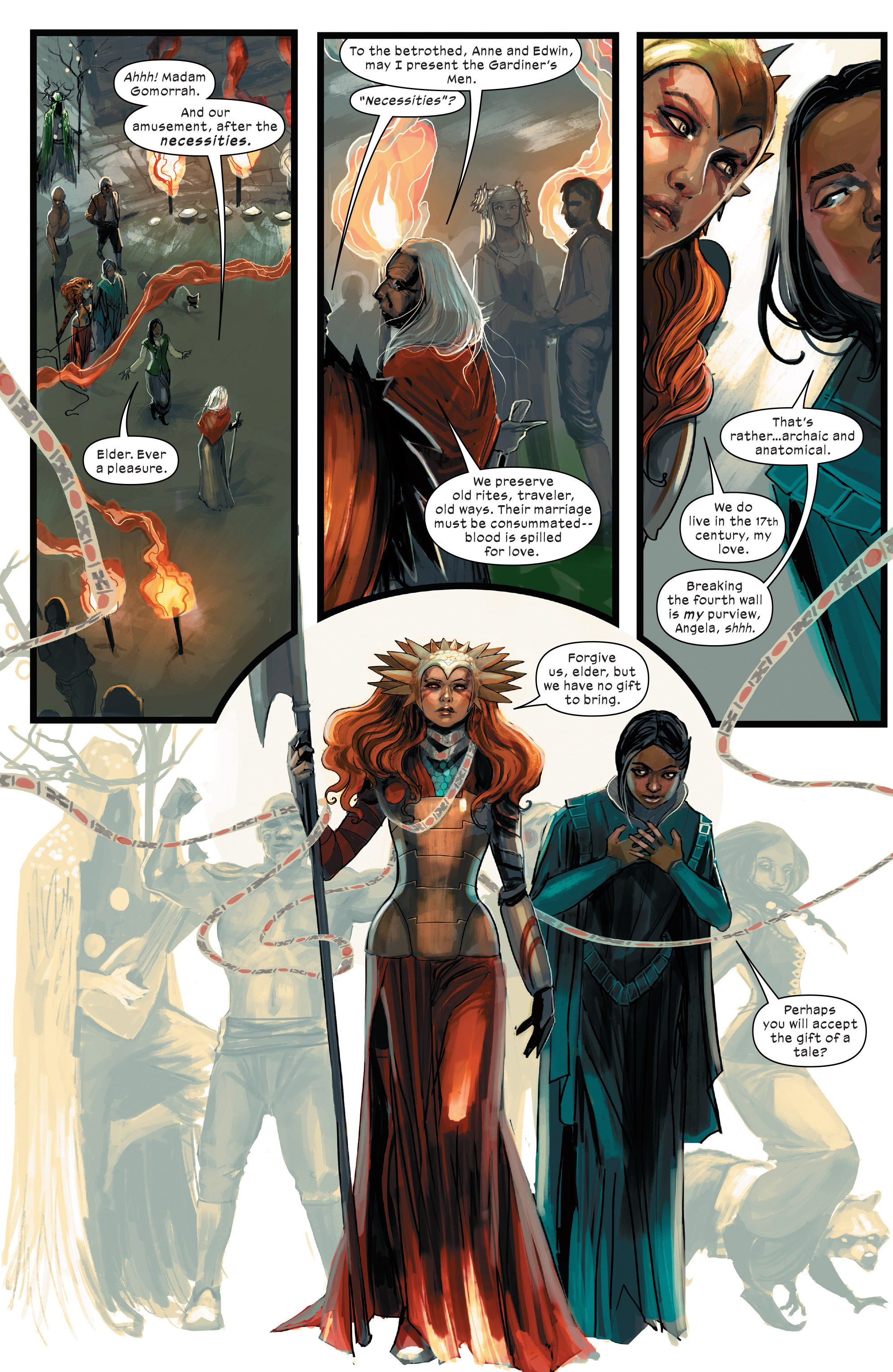 Read online 1602 Witch Hunter Angela comic -  Issue #2 - 9
