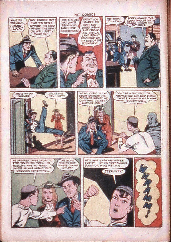 Read online Hit Comics comic -  Issue #33 - 12