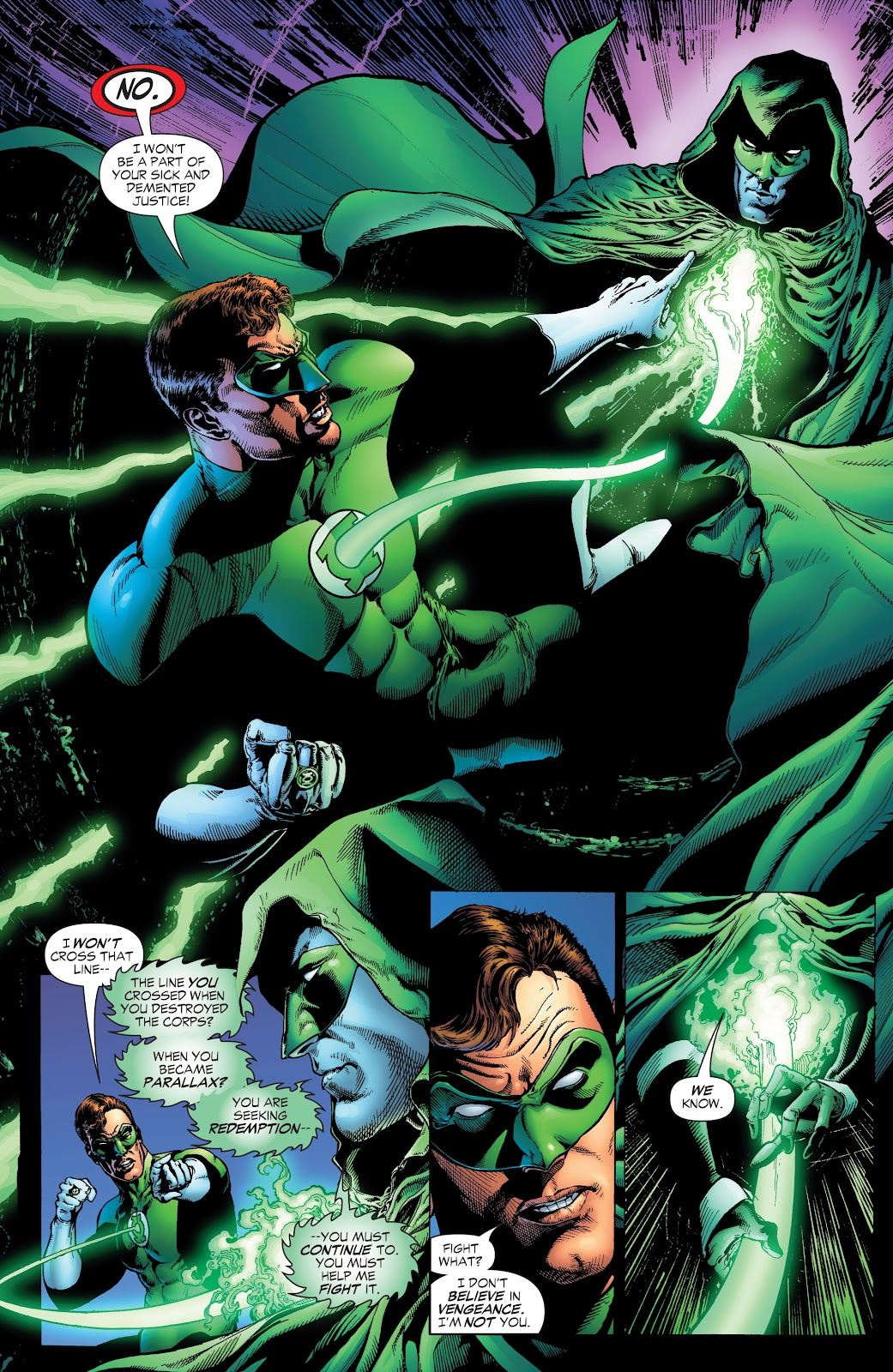 Read online Green Lantern by Geoff Johns comic -  Issue # TPB 1 (Part 1) - 9