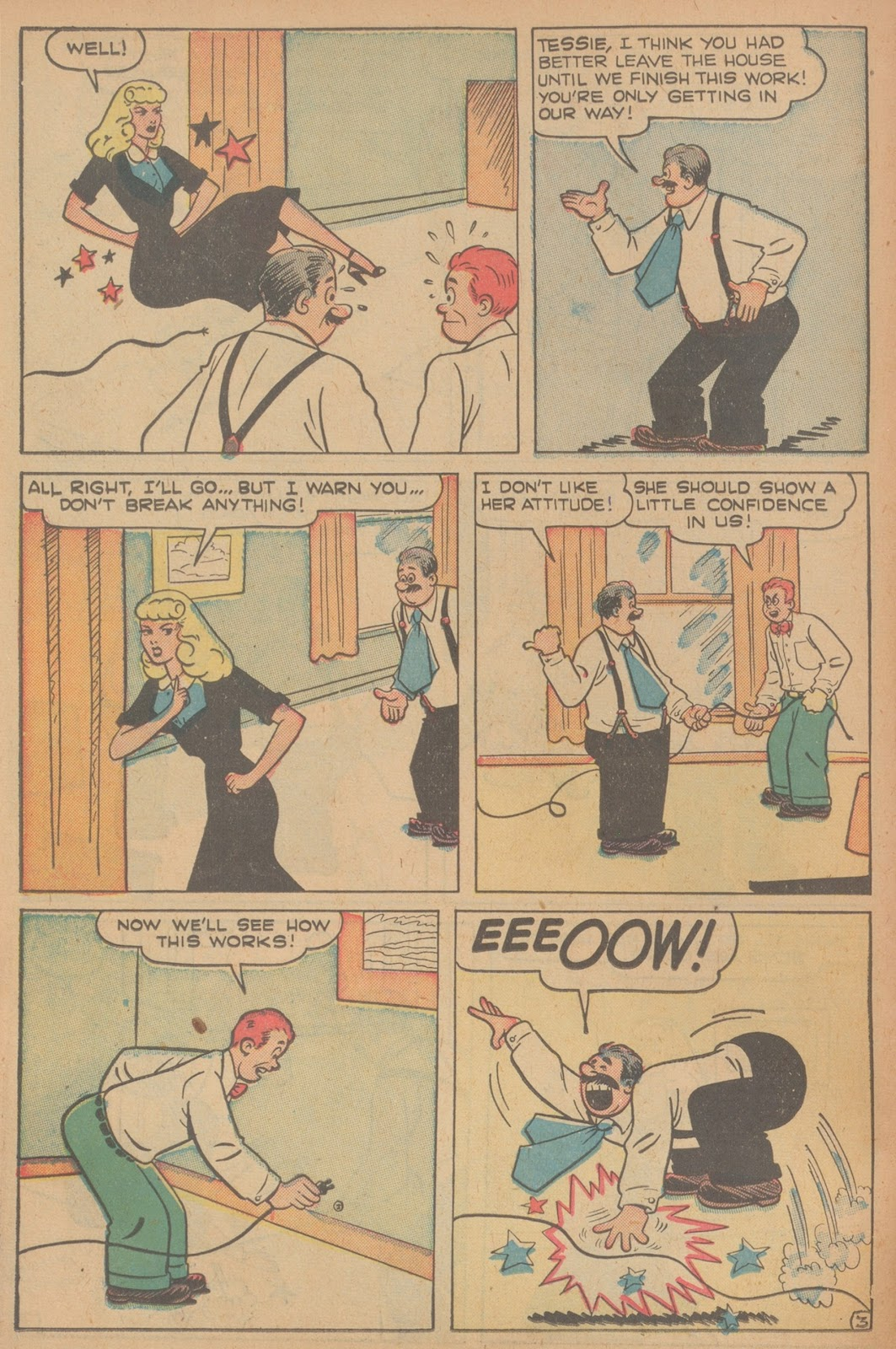 Read online Nellie The Nurse (1945) comic -  Issue #21 - 38