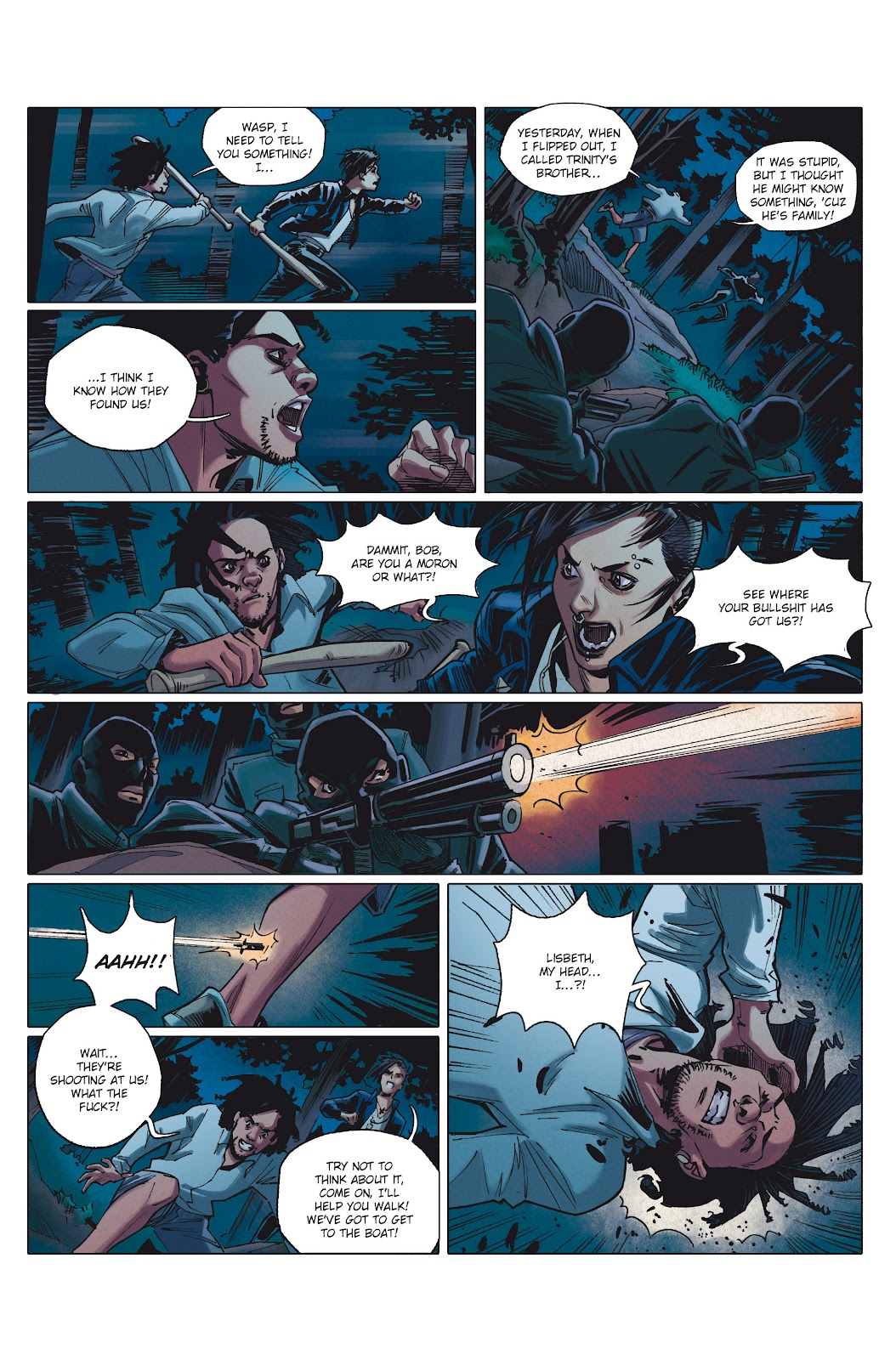 Read online Millennium: The Girl Who Danced With Death comic -  Issue #1 - 39