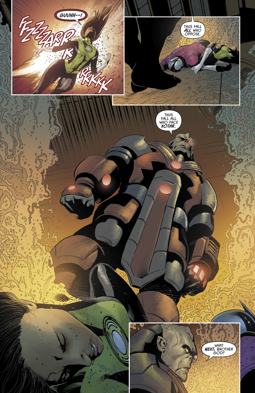 Justice League Odyssey 16 Page 22
