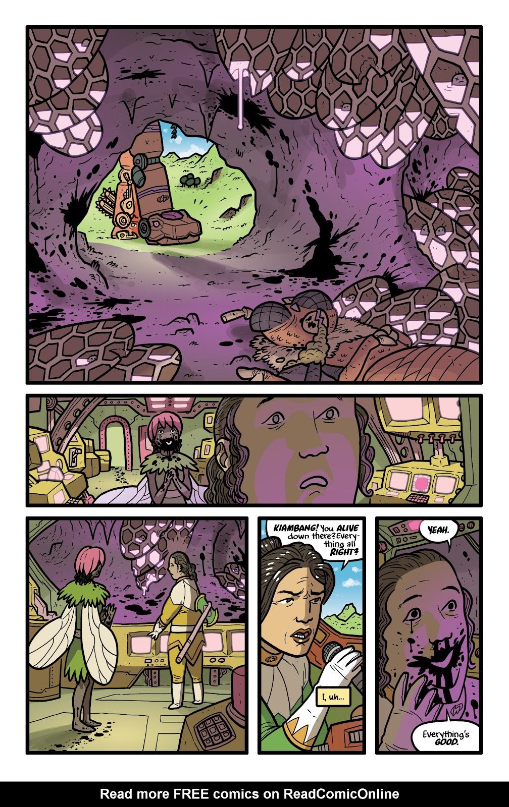 Read online Kaijumax: Season Four comic -  Issue #5 - 16