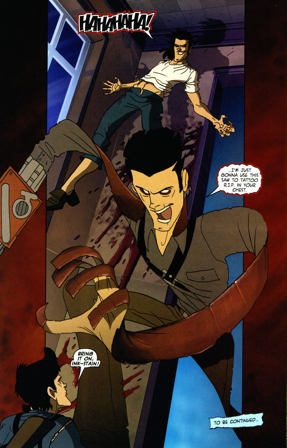 Read online Army of Darkness vs. Re-Animator comic -  Issue #3 - 26