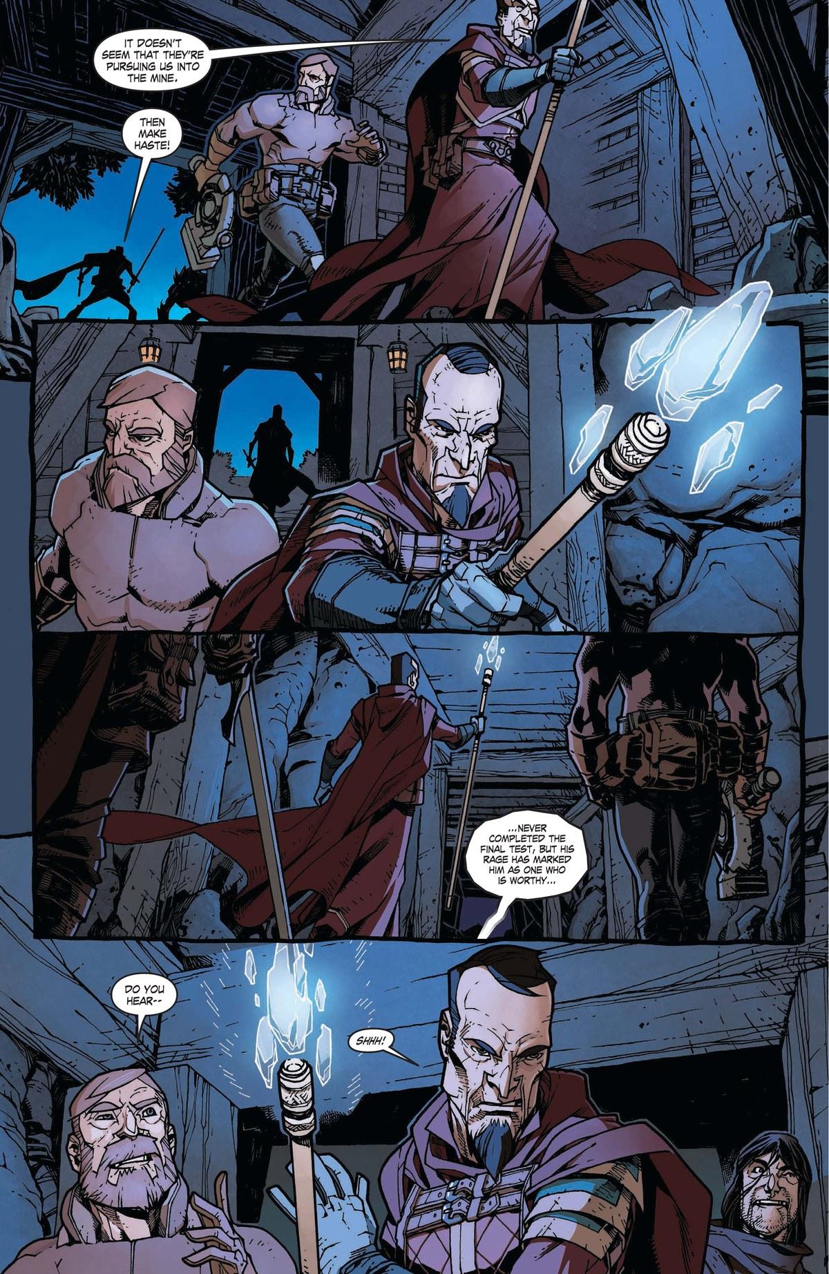 Read online World of Warcraft: Dark Riders comic -  Issue # Full - 66