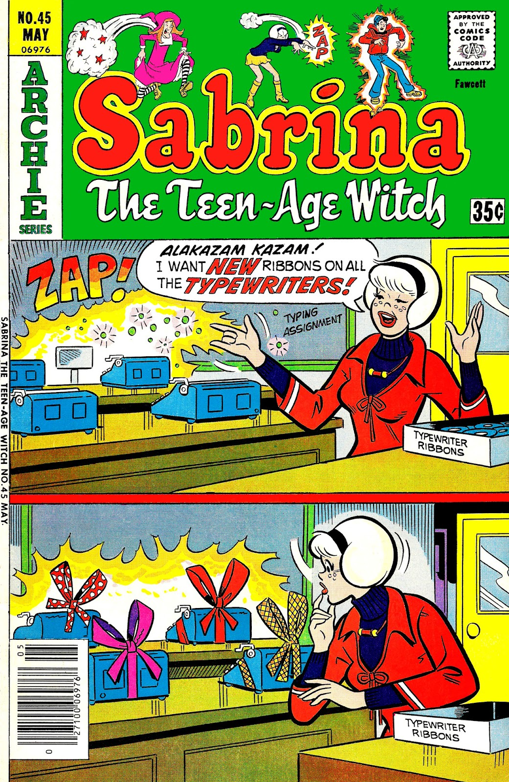 Sabrina The Teenage Witch (1971) issue 45 - Page 1