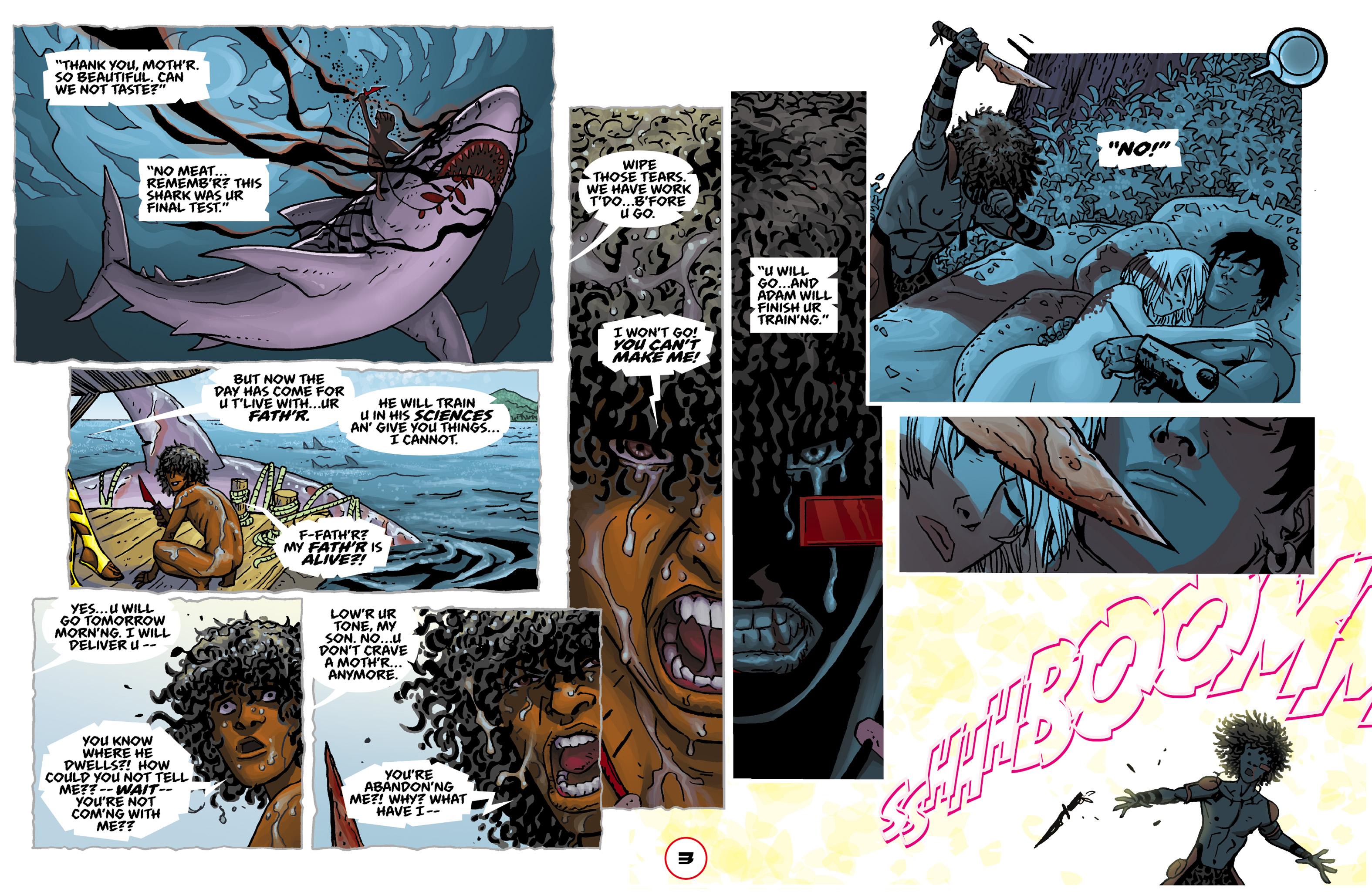 Read online Adam.3 comic -  Issue #2 - 5