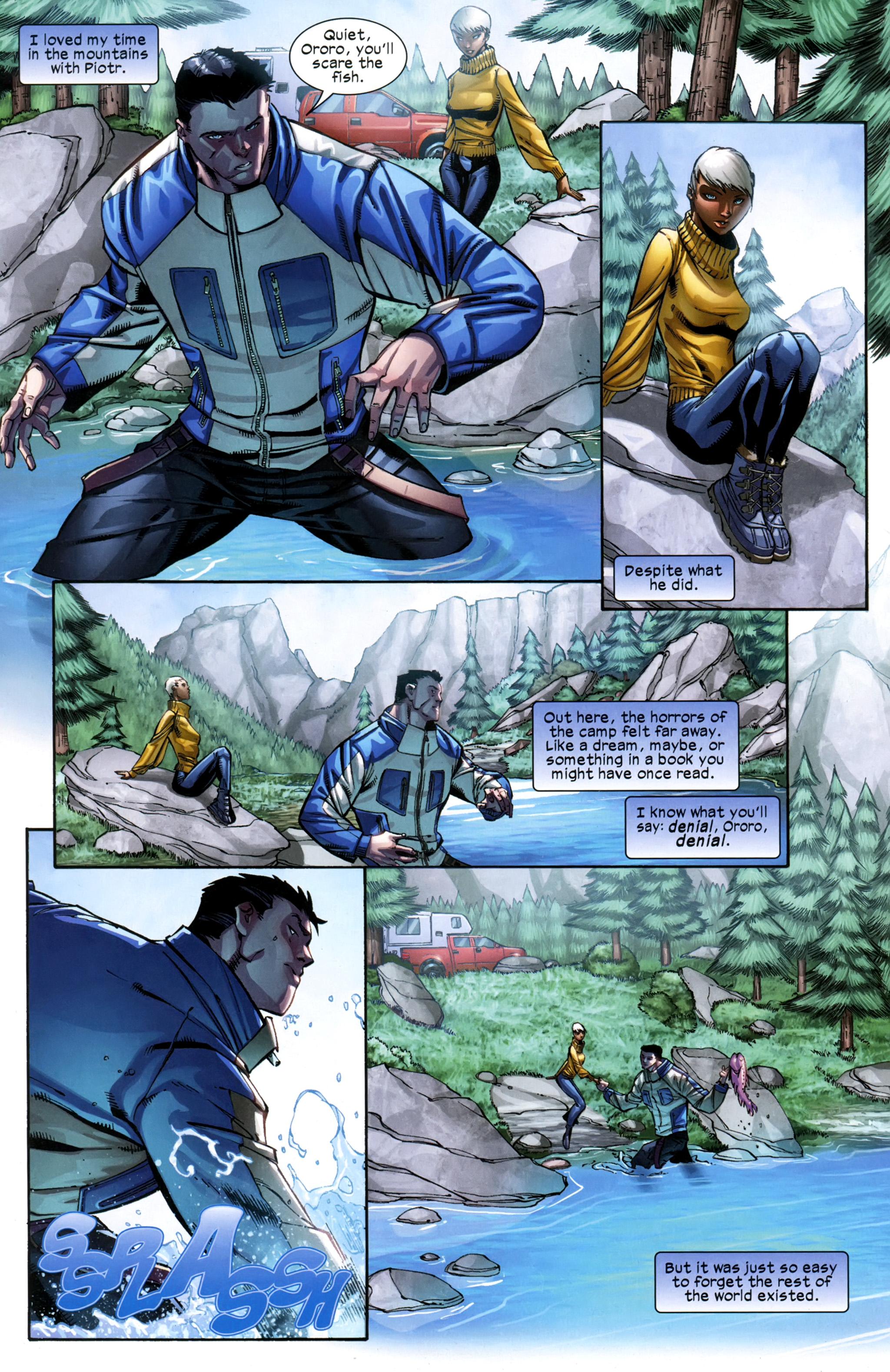 Read online Ultimate Comics X-Men comic -  Issue #23 - 6