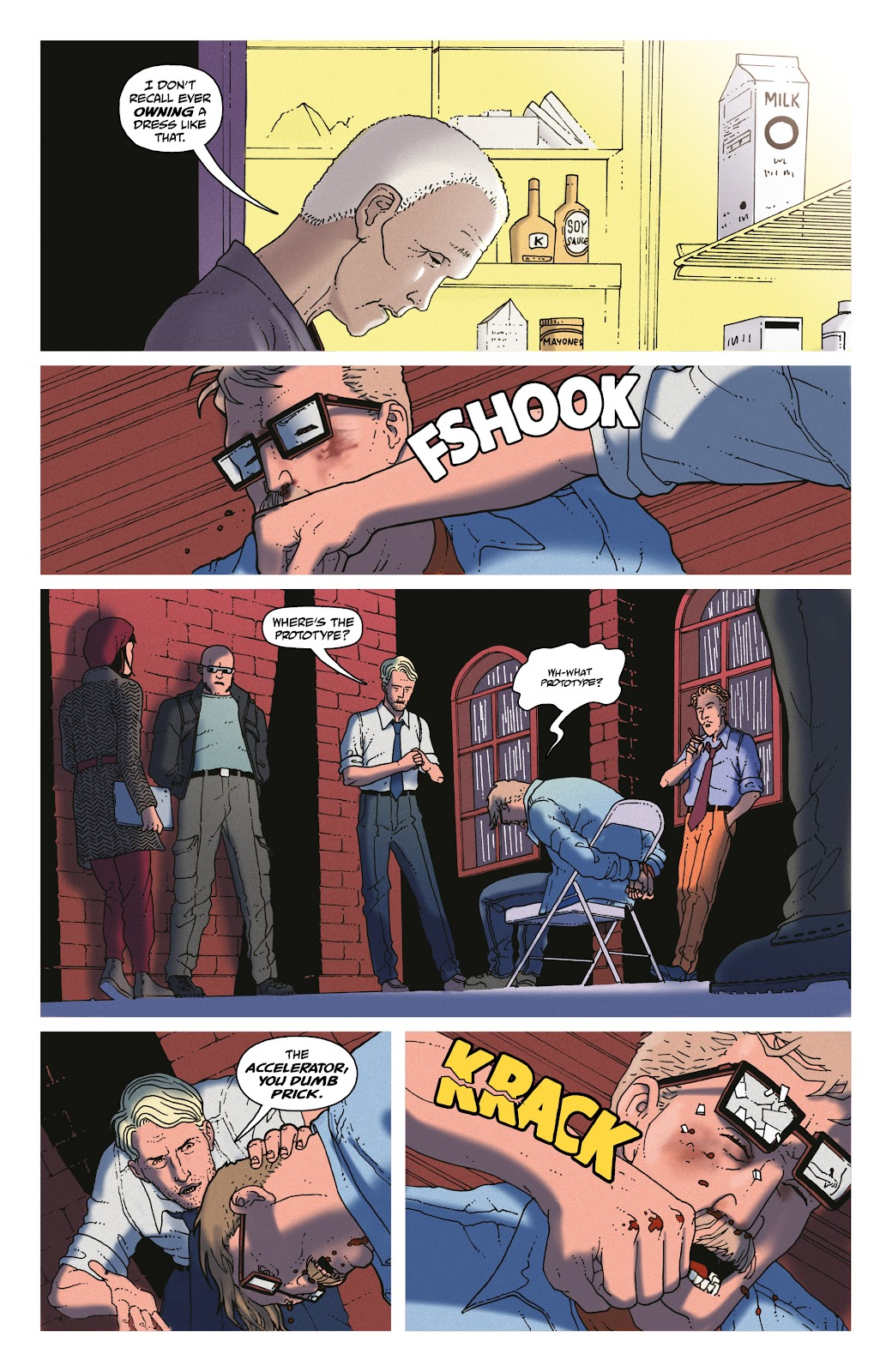 Read online She Could Fly comic -  Issue # _TPB - 101