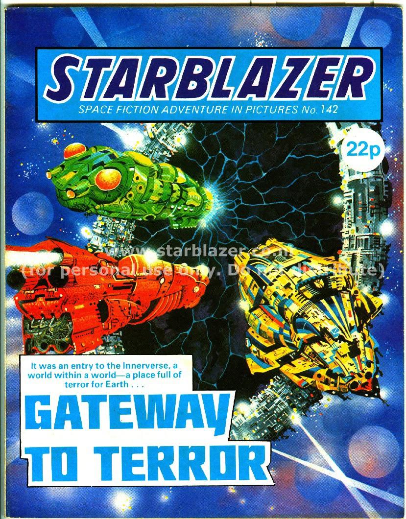 Starblazer issue 142 - Page 1