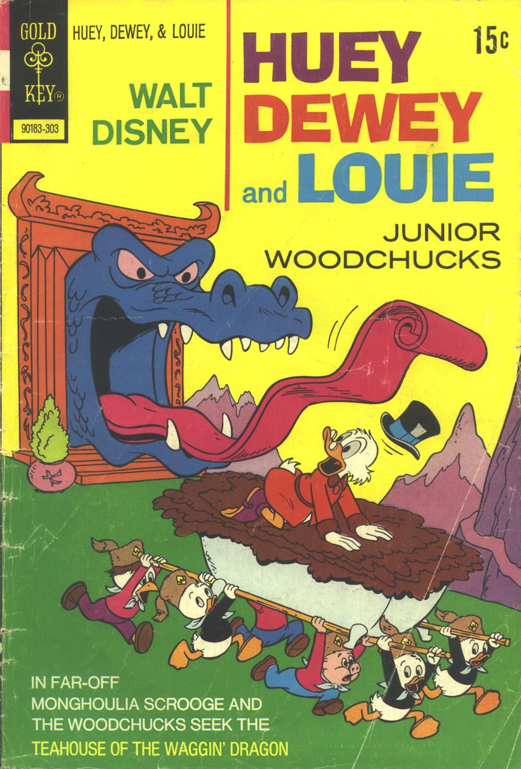 Huey, Dewey, and Louie Junior Woodchucks 19 Page 1