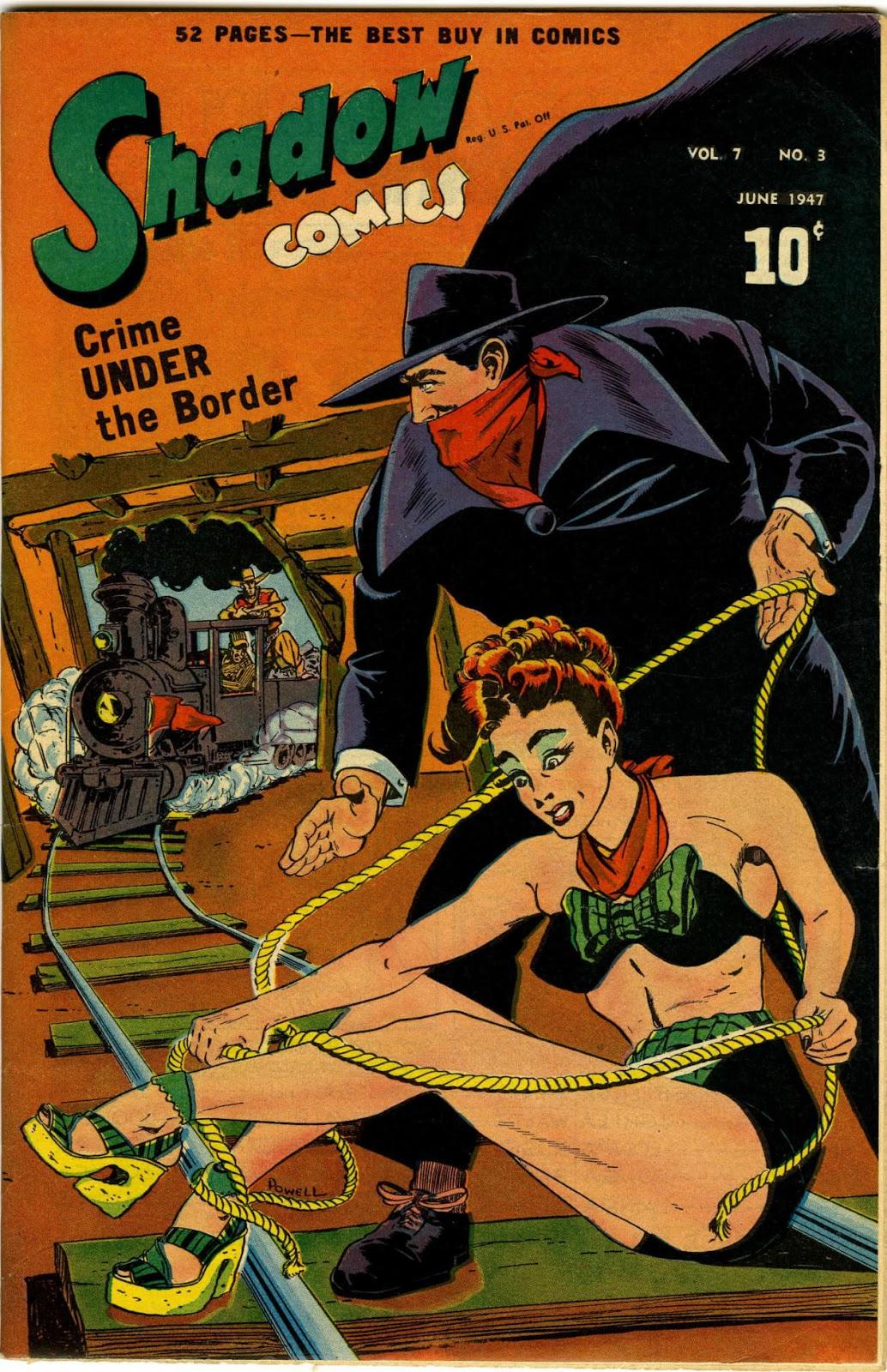 Shadow Comics 75 Page 1